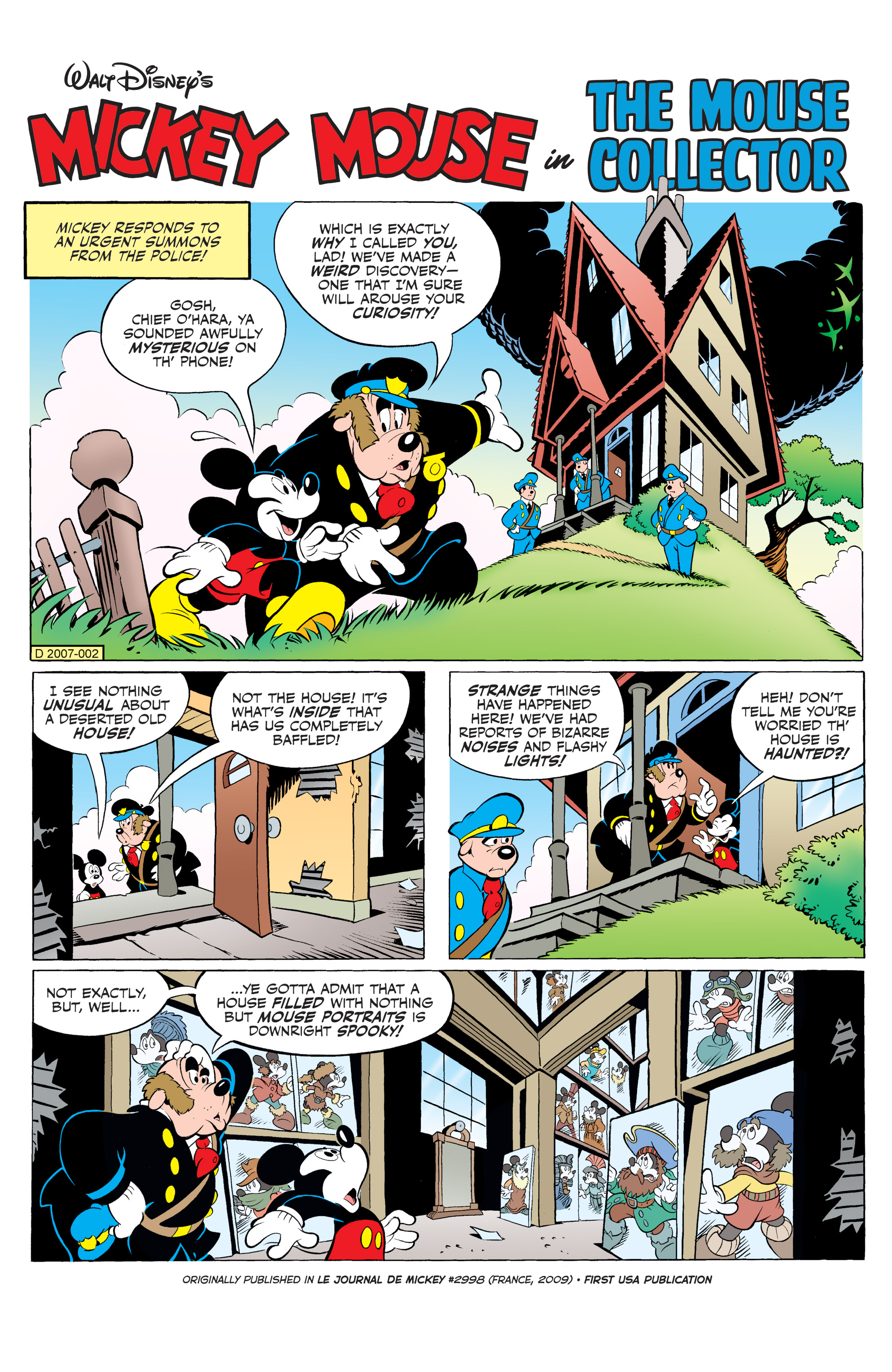 Read online Mickey Mouse (2015) comic -  Issue #20 - 23