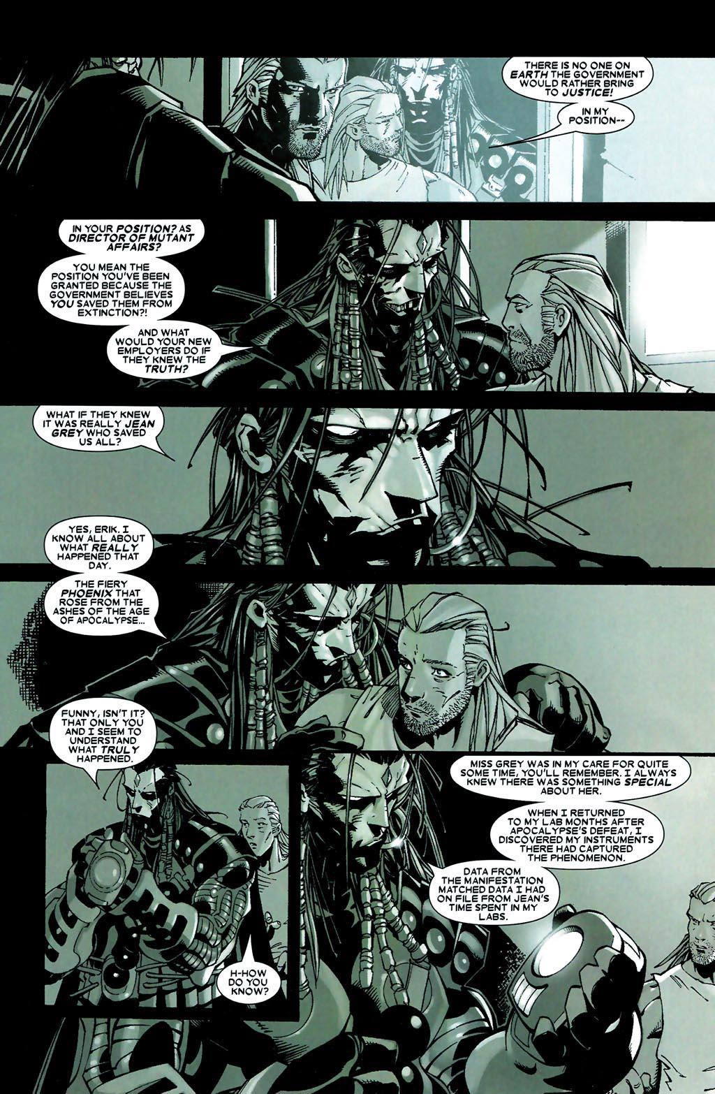 Read online Age of Apocalypse (2005) comic -  Issue #5 - 13