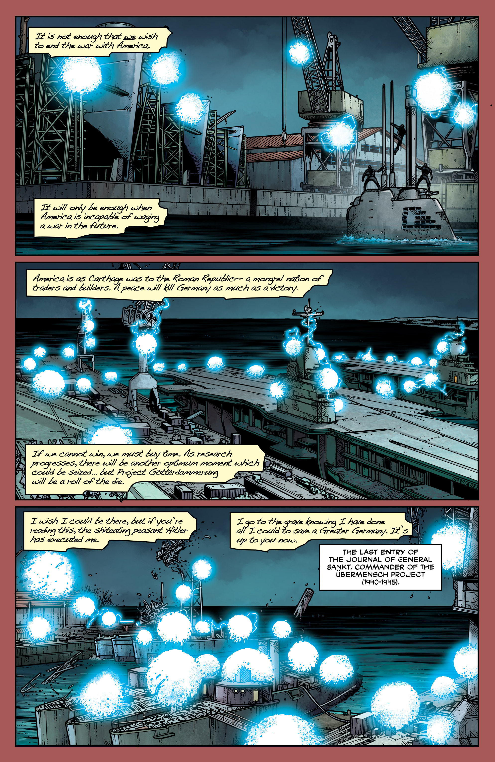Read online Uber: Invasion comic -  Issue #1 - 12