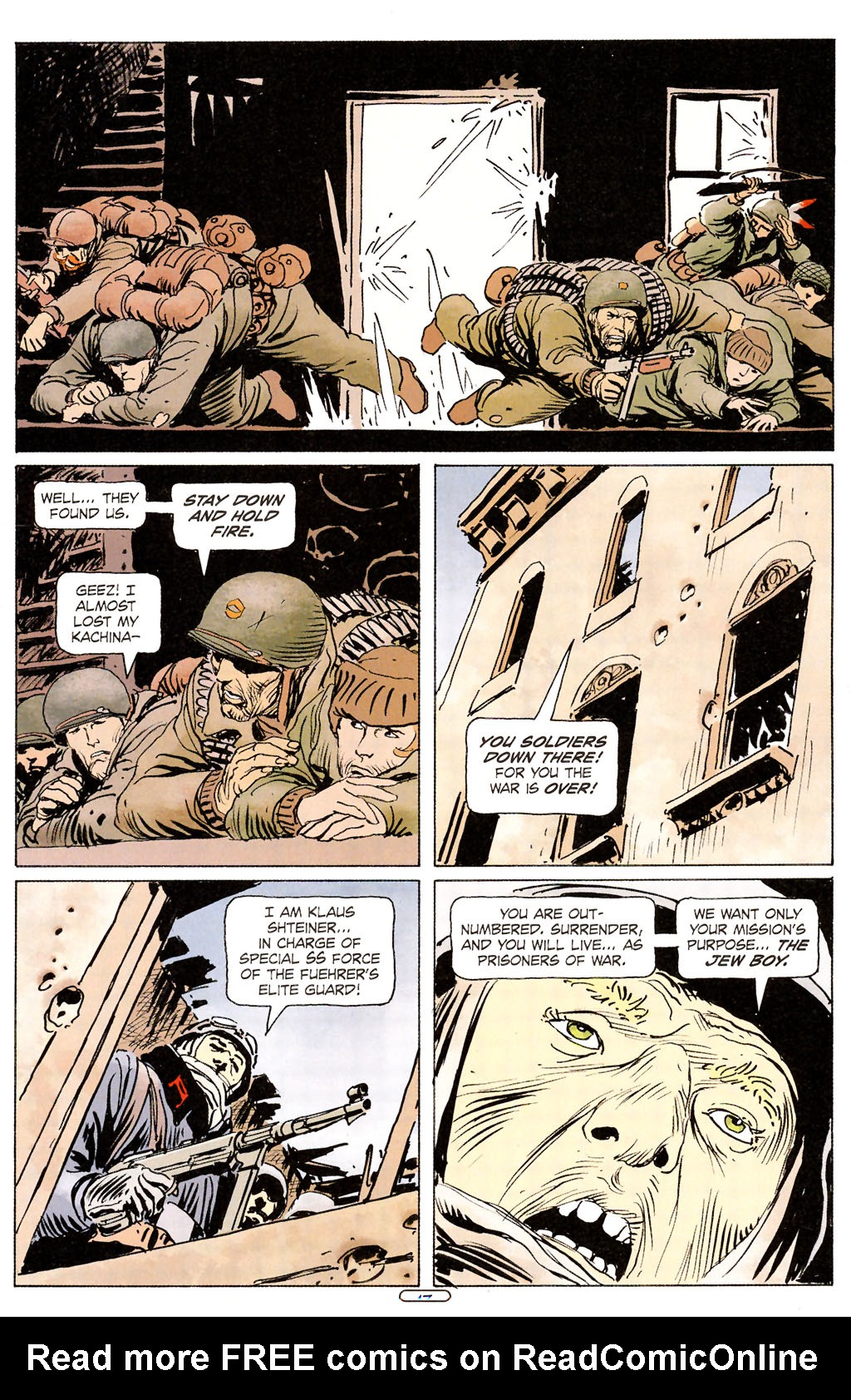 Read online Sgt. Rock: The Prophecy comic -  Issue #6 - 13