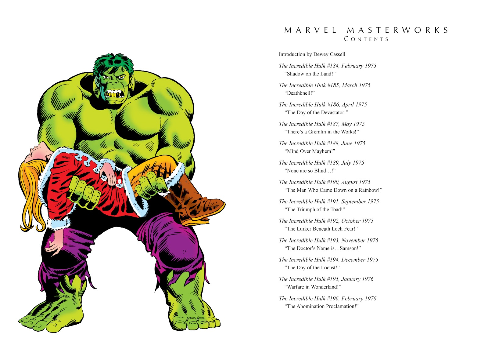 Read online Marvel Masterworks: The Incredible Hulk comic -  Issue # TPB 11 (Part 1) - 4