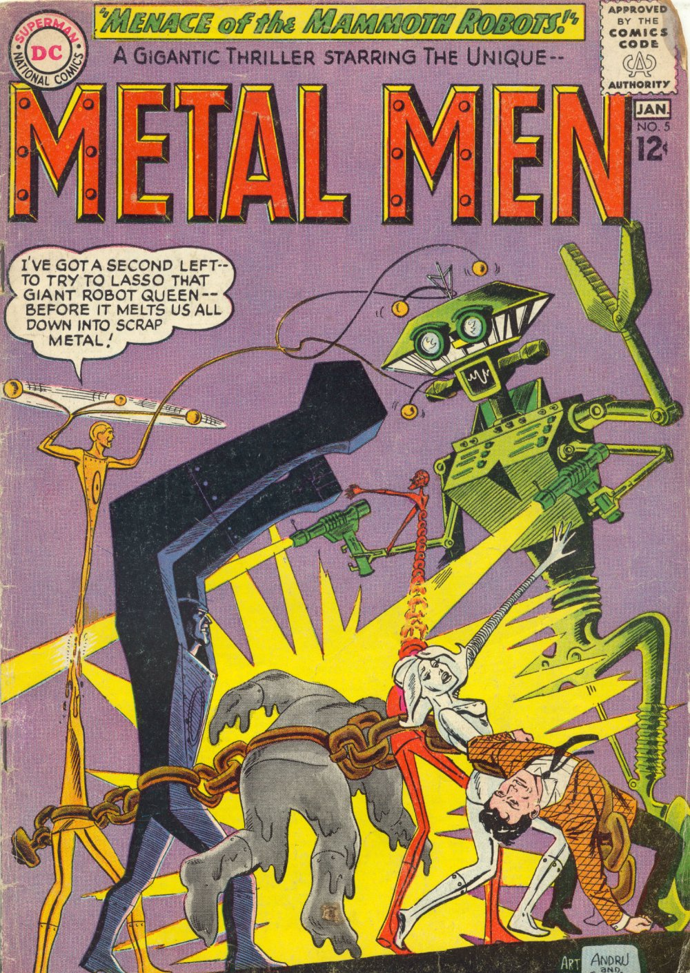 Metal Men (1963) issue 5 - Page 1
