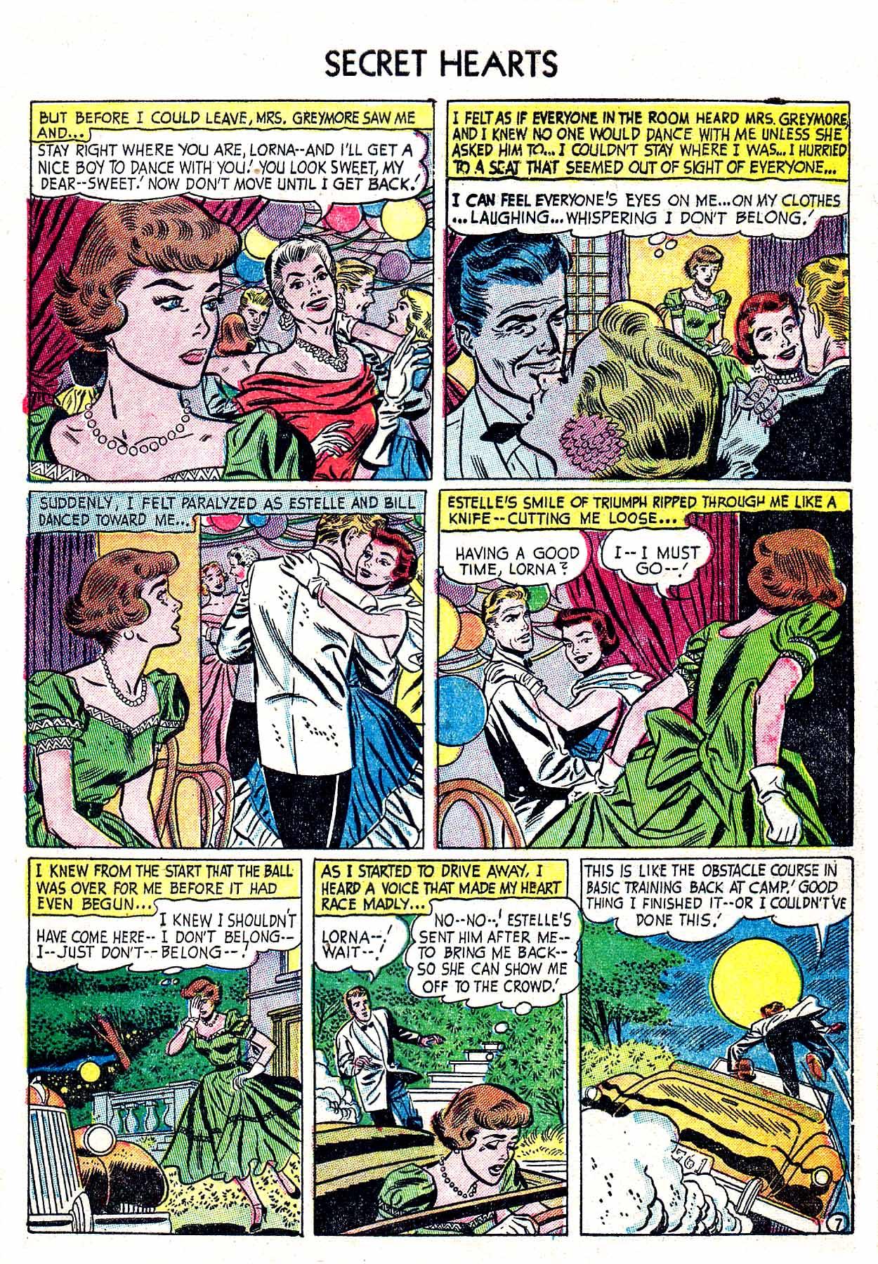 Read online Secret Hearts comic -  Issue #19 - 33