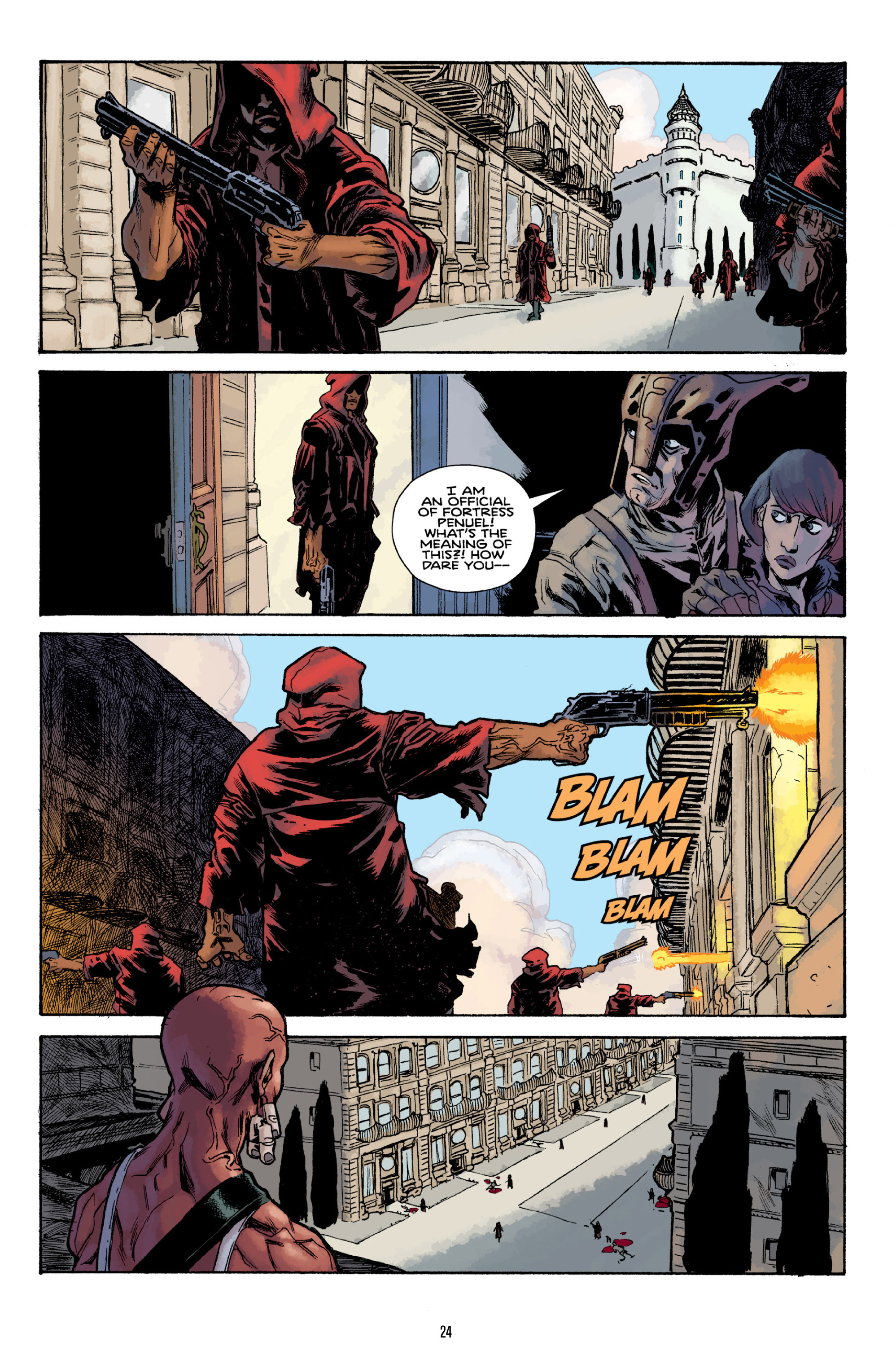 Read online Orchid comic -  Issue # TPB 3 - 24