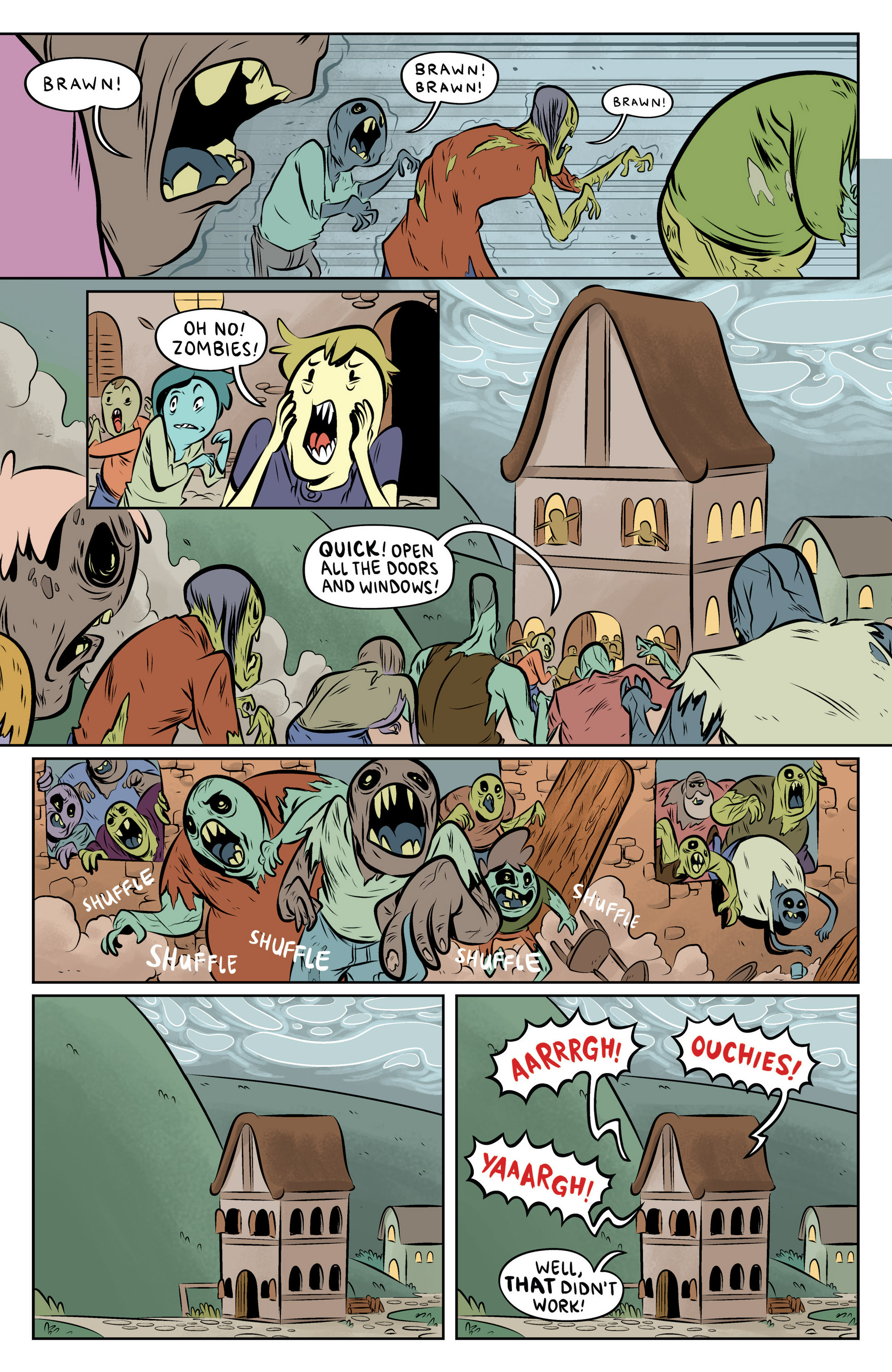 Read online Adventure Time: The Flip Side comic -  Issue #6 - 10