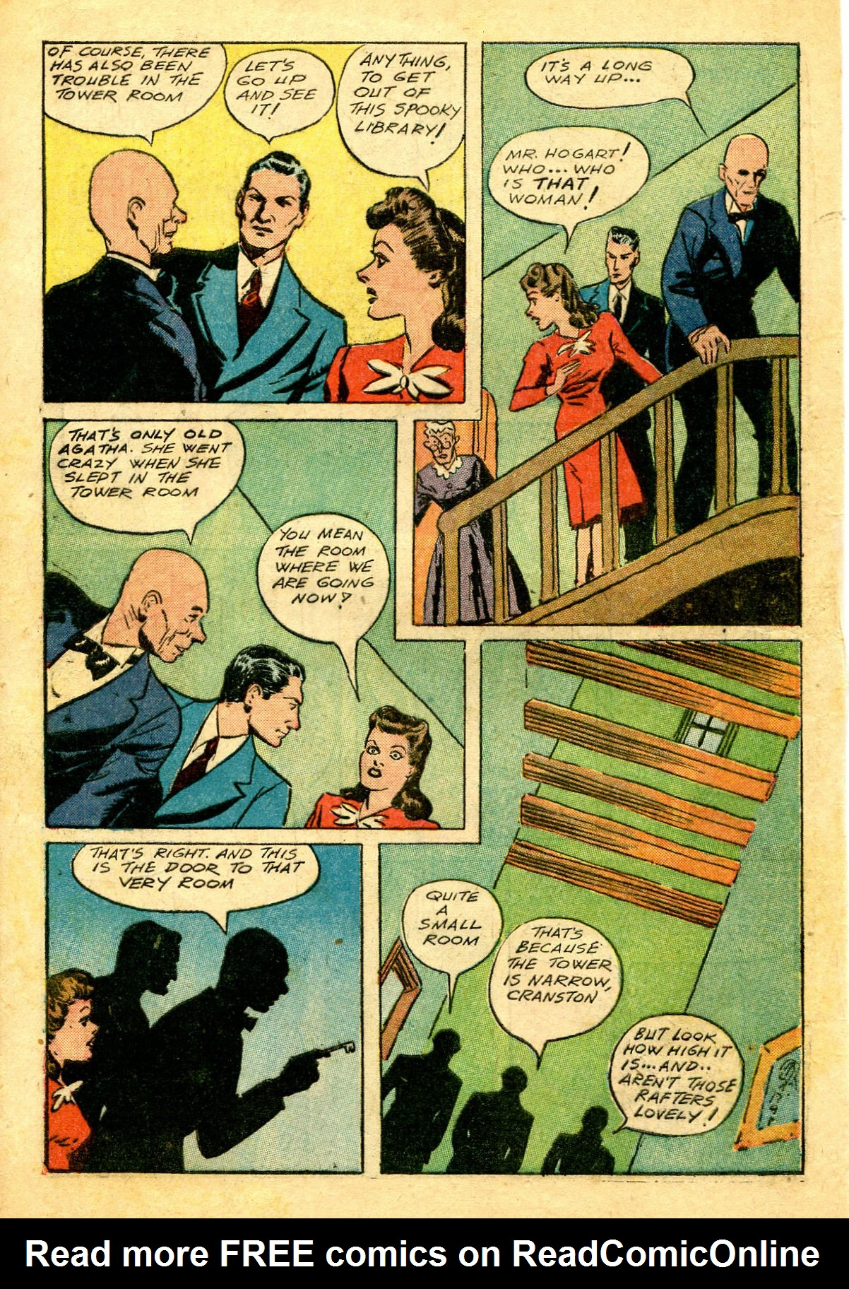 Read online Shadow Comics comic -  Issue #43 - 6
