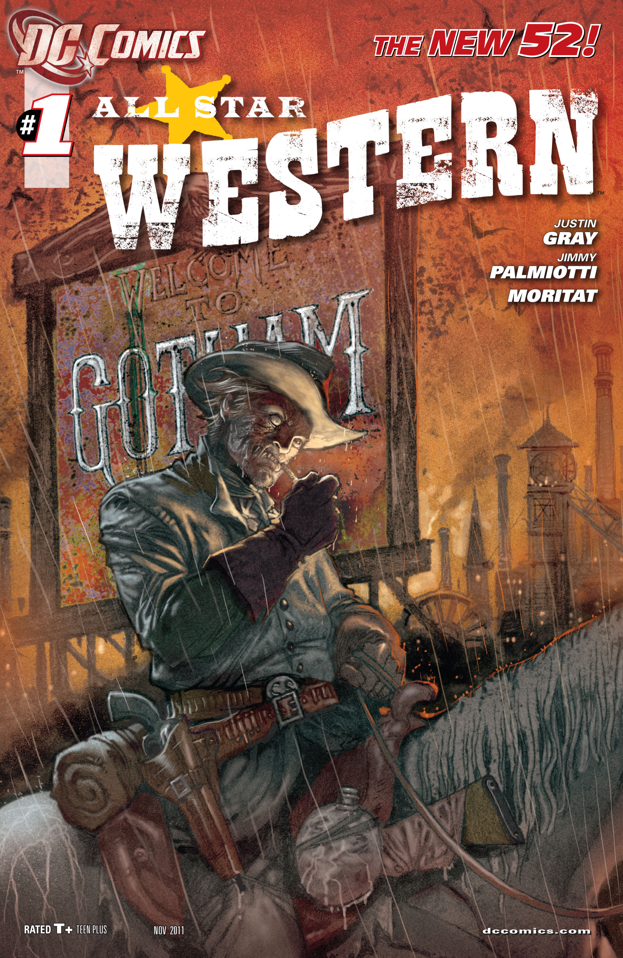 Read online All-Star Western (2011) comic -  Issue #1 - 1