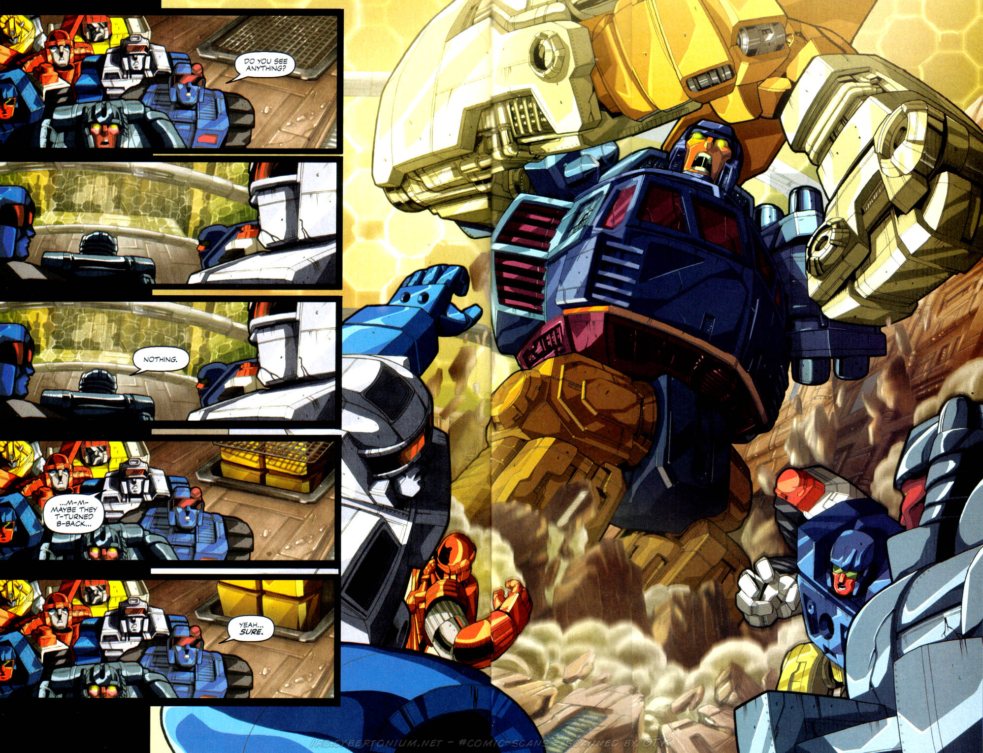 Read online Transformers Armada comic -  Issue #1 - 21
