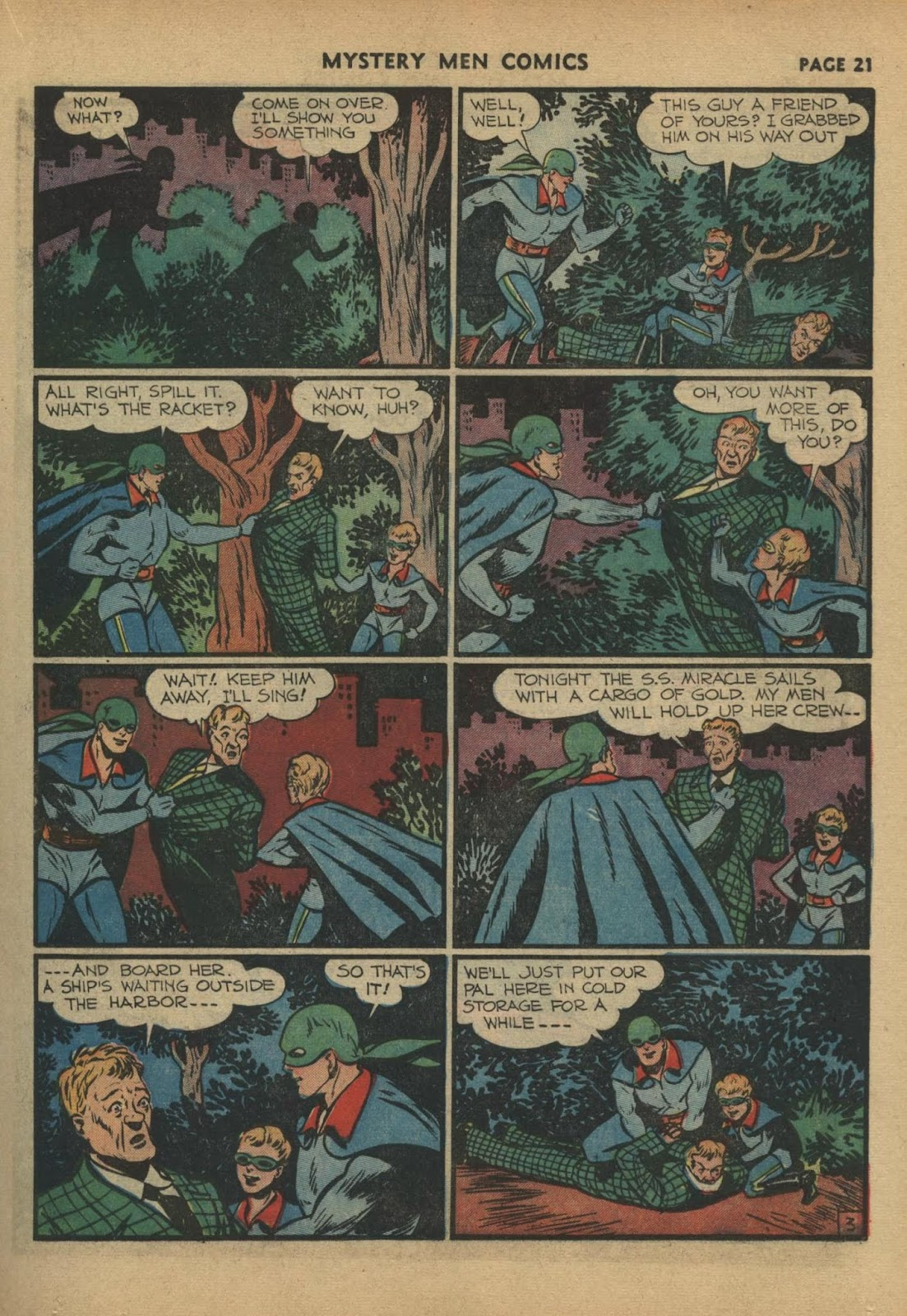Mystery Men Comics issue 17 - Page 23