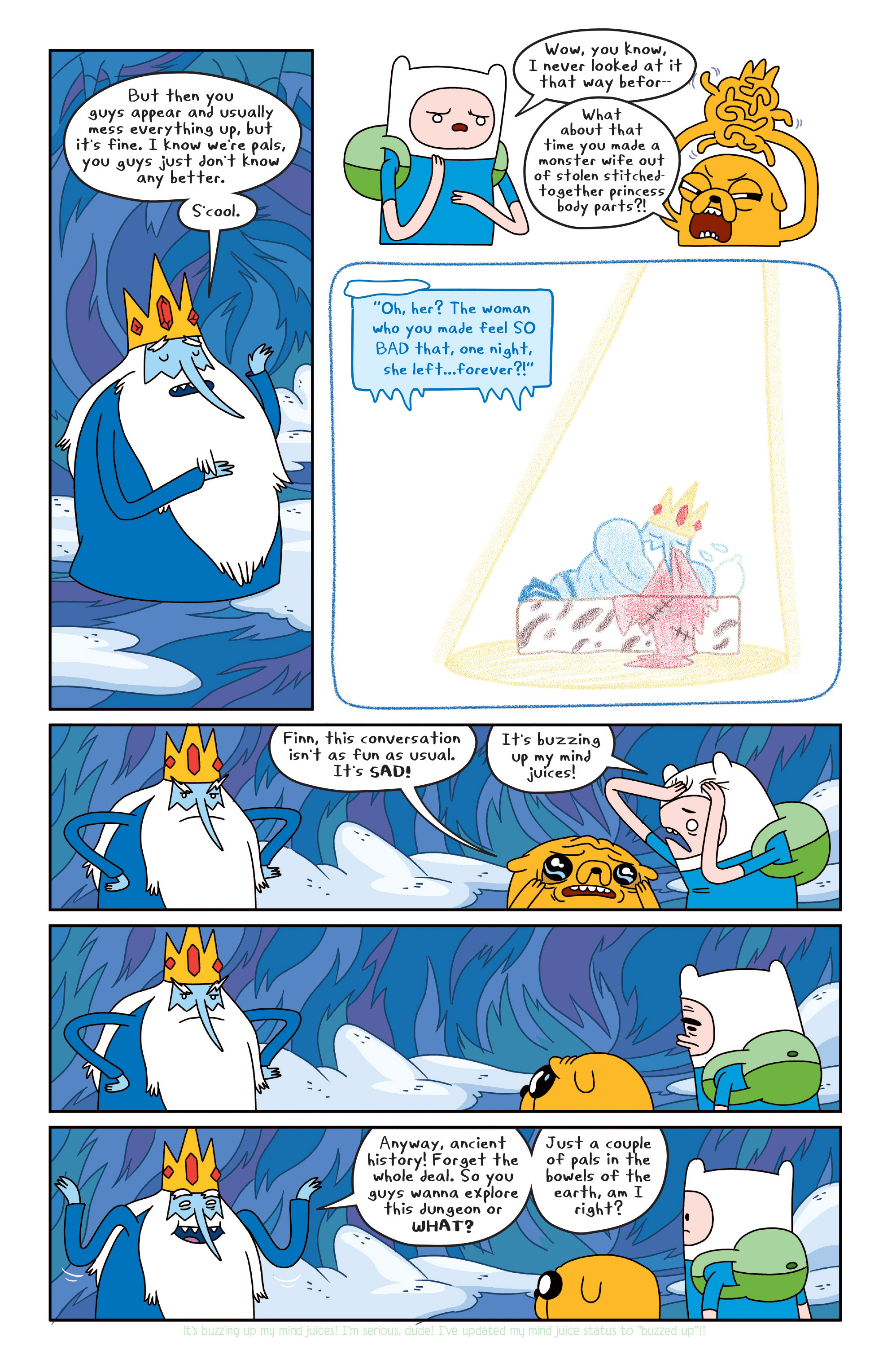 Read online Adventure Time comic -  Issue #Adventure Time _TPB 4 - 31
