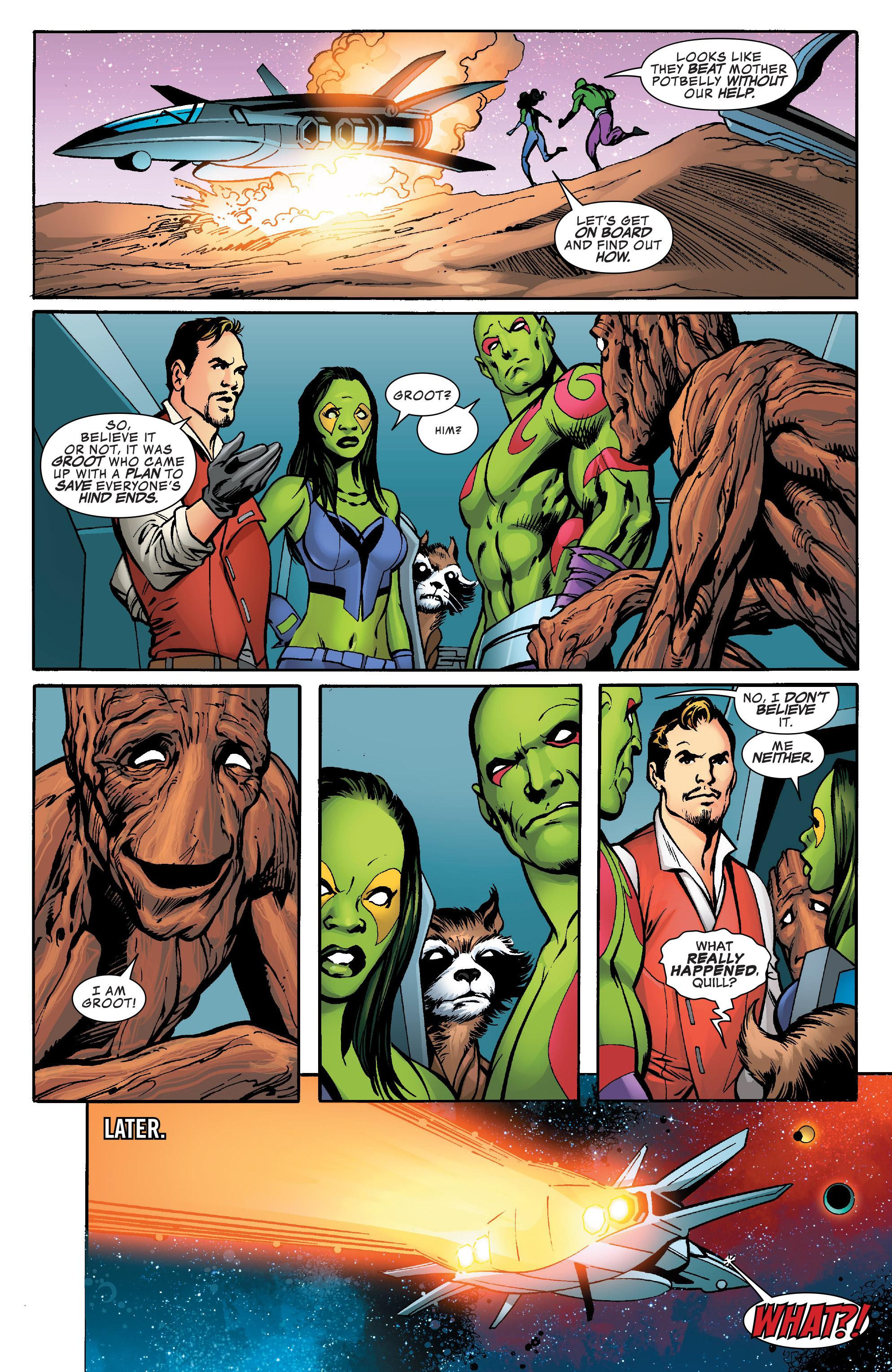 Read online Guardians of the Galaxy: Mother Entropy comic -  Issue #5 - 17