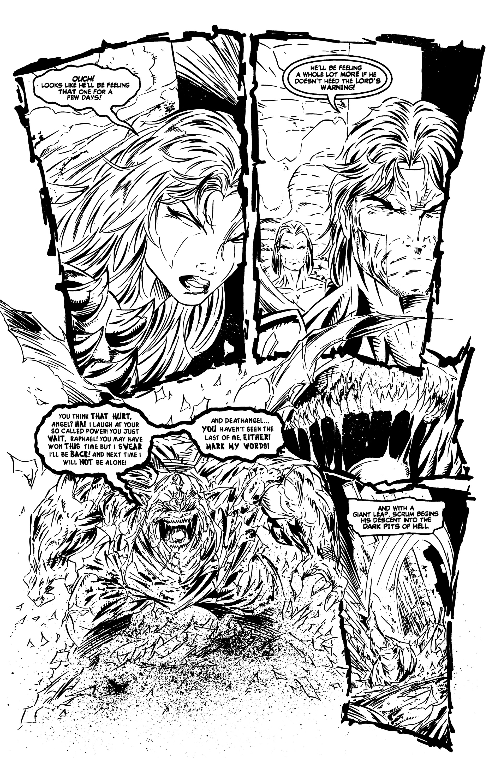 Read online DeathAngel comic -  Issue # Full - 21