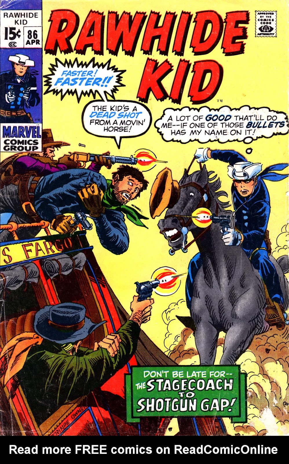 The Rawhide Kid (1955) issue 86 - Page 1