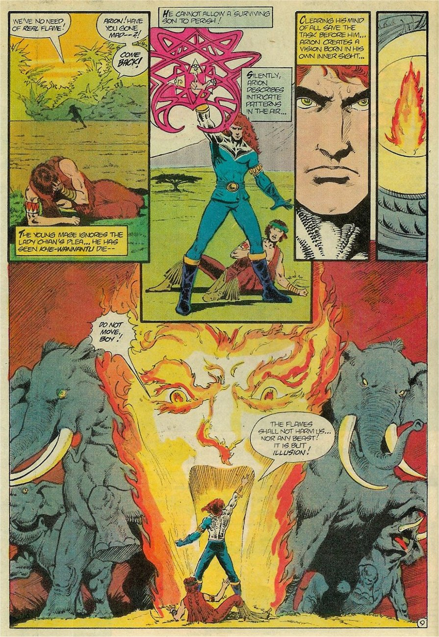 Read online Arion, Lord of Atlantis comic -  Issue #19 - 10