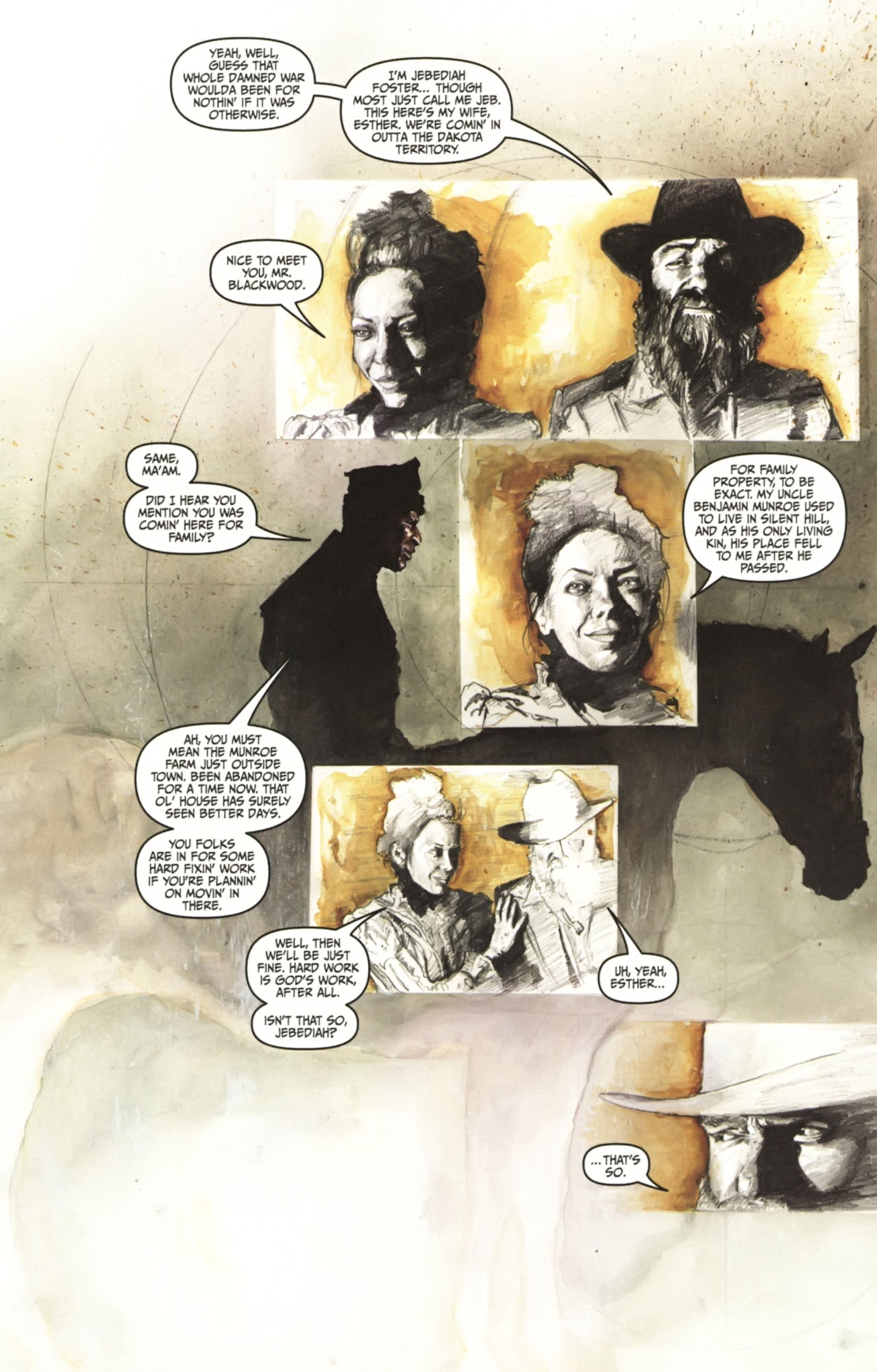 Read online Silent Hill: Past Life comic -  Issue #1 - 8