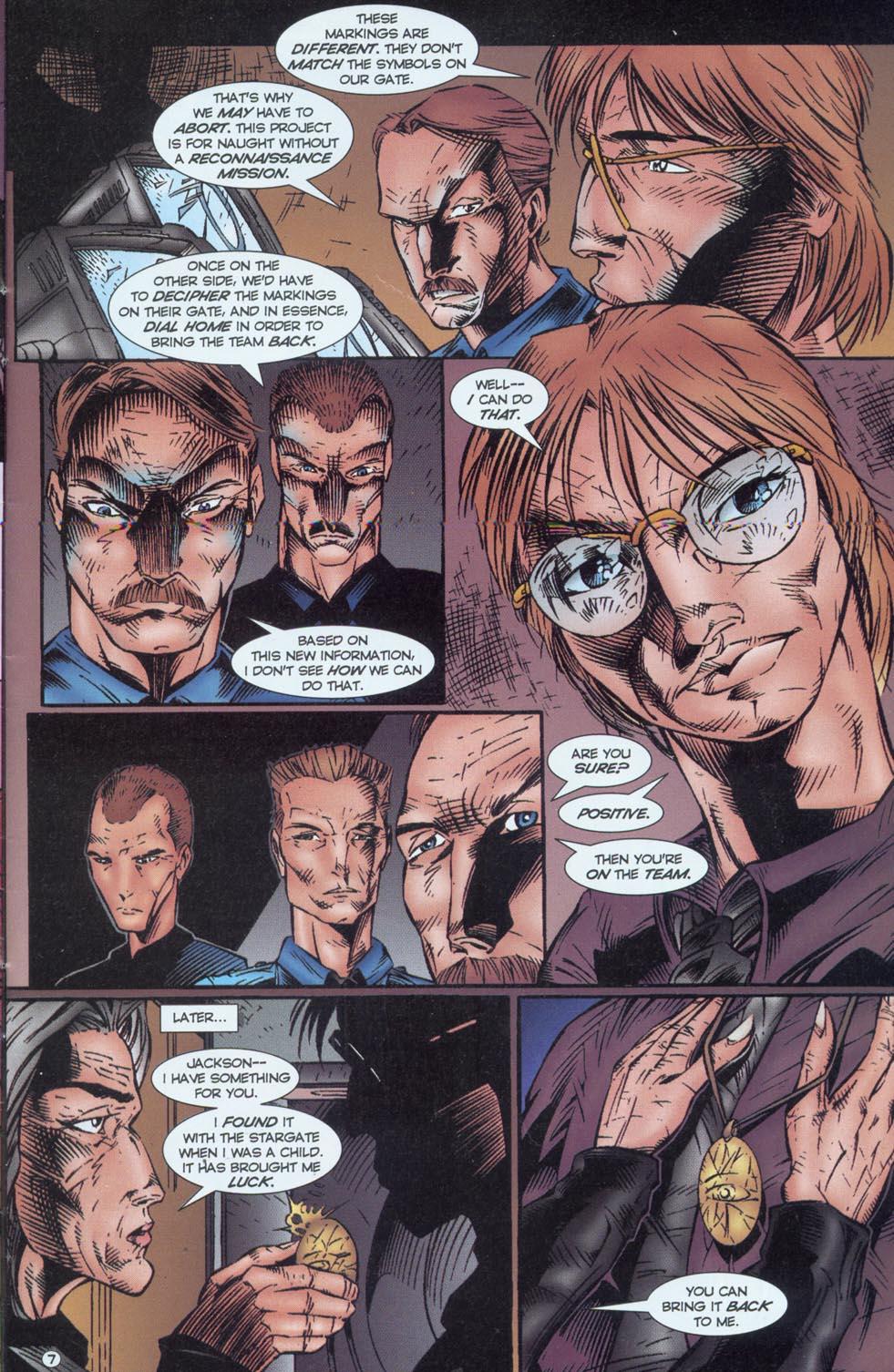 Read online Stargate comic -  Issue #1 - 9