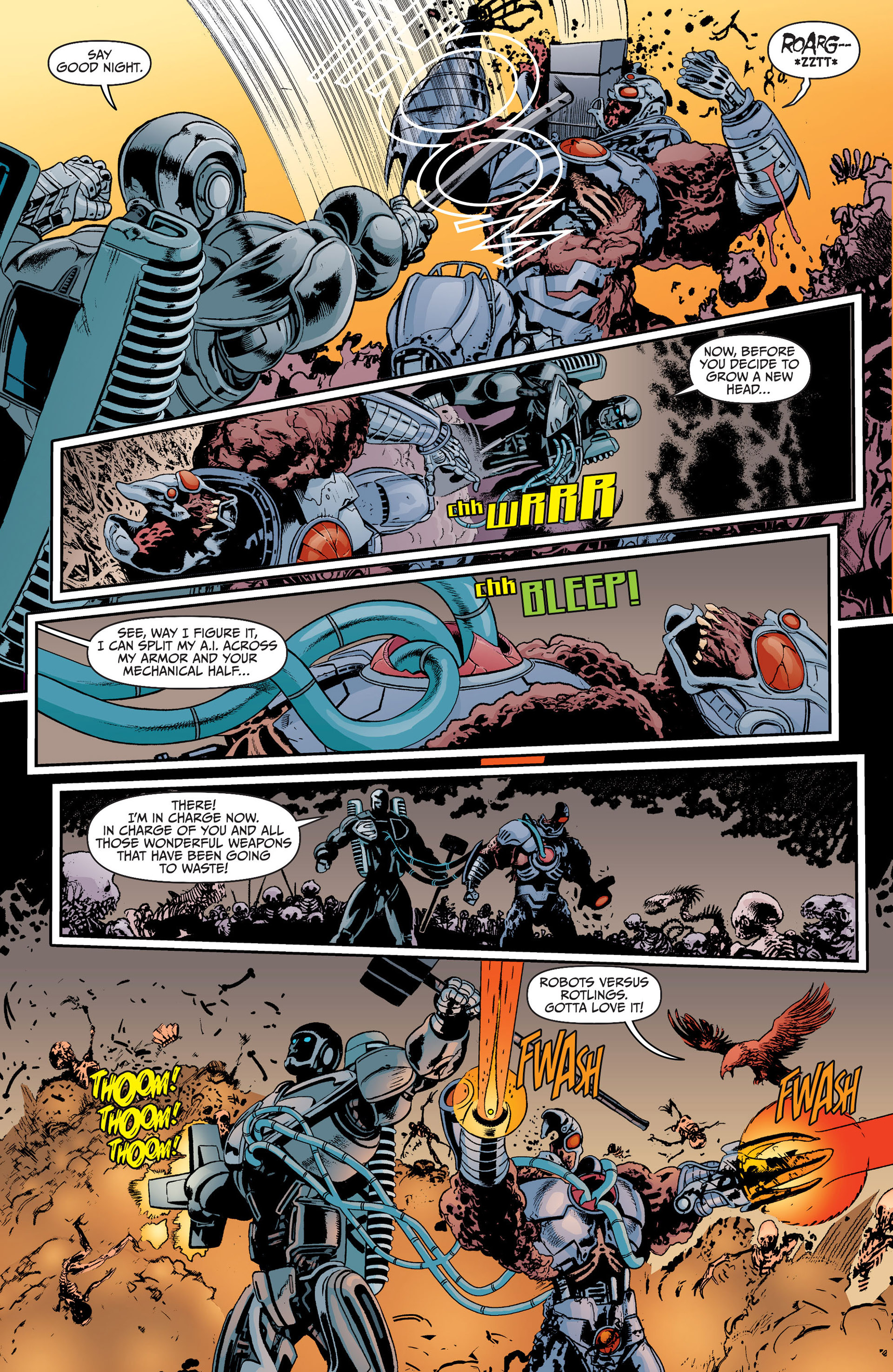 Read online Animal Man (2011) comic -  Issue #17 - 16