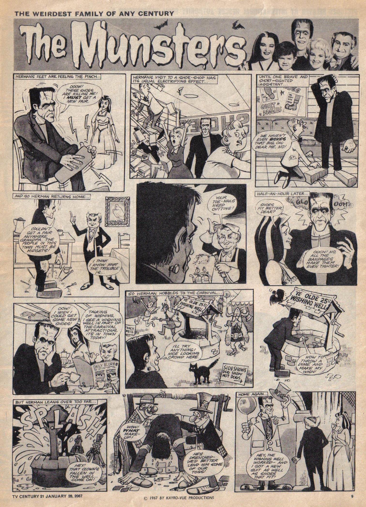 Read online TV Century 21 (TV 21) comic -  Issue #106 - 9