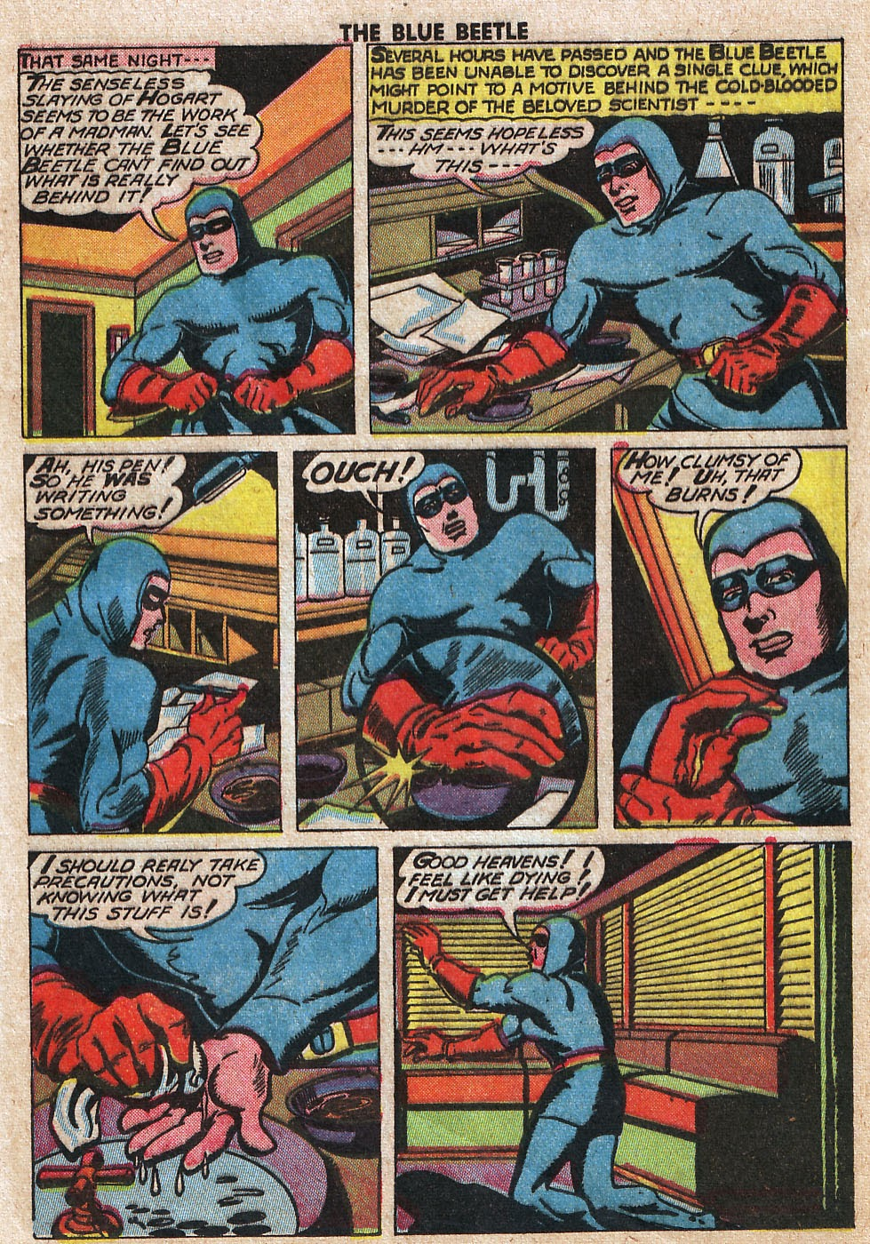 The Blue Beetle issue 33 - Page 17