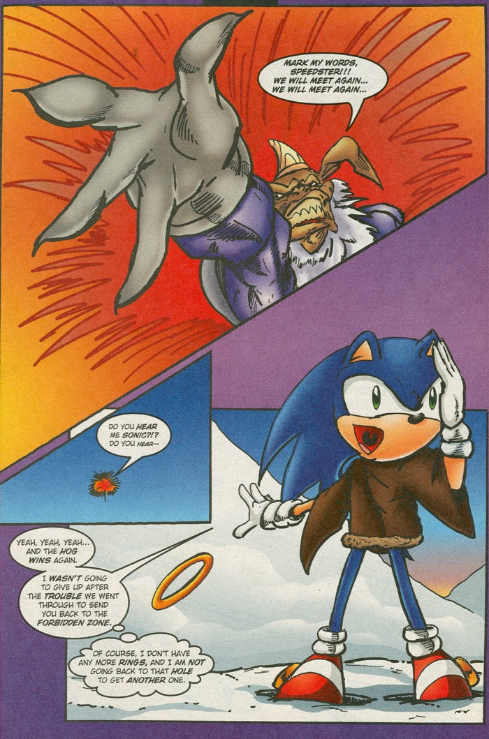 Read online Sonic Super Special comic -  Issue #15 - Naugus games - 27