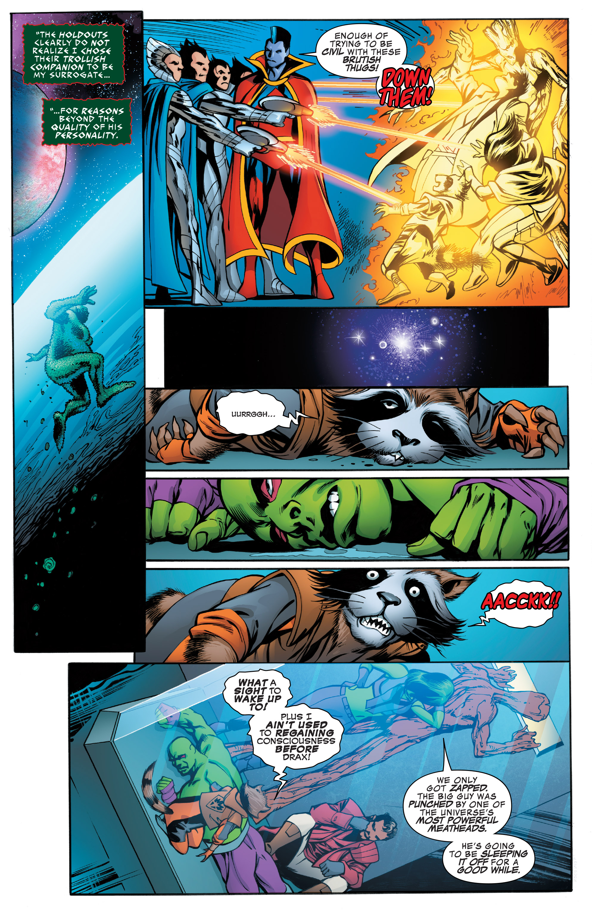 Read online Guardians of the Galaxy: Mother Entropy comic -  Issue #4 - 6