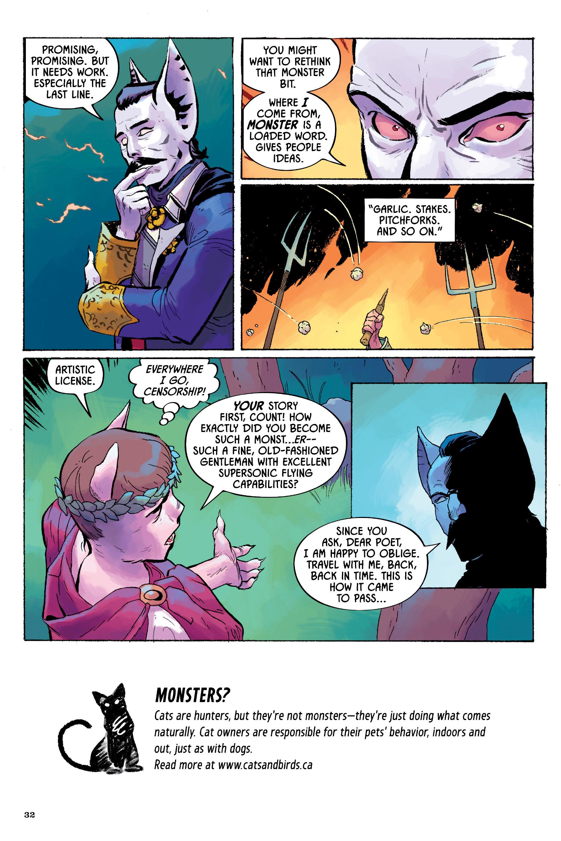 Read online Angel Catbird comic -  Issue # TPB 2 - 33