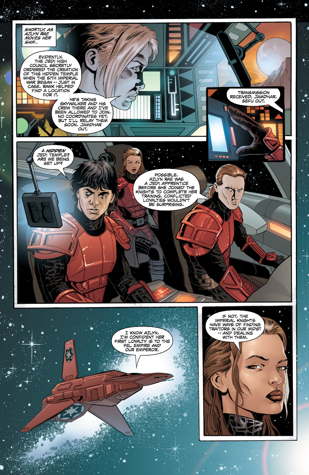 Read online Star Wars Legends: Legacy - Epic Collection comic -  Issue # TPB 2 (Part 2) - 48