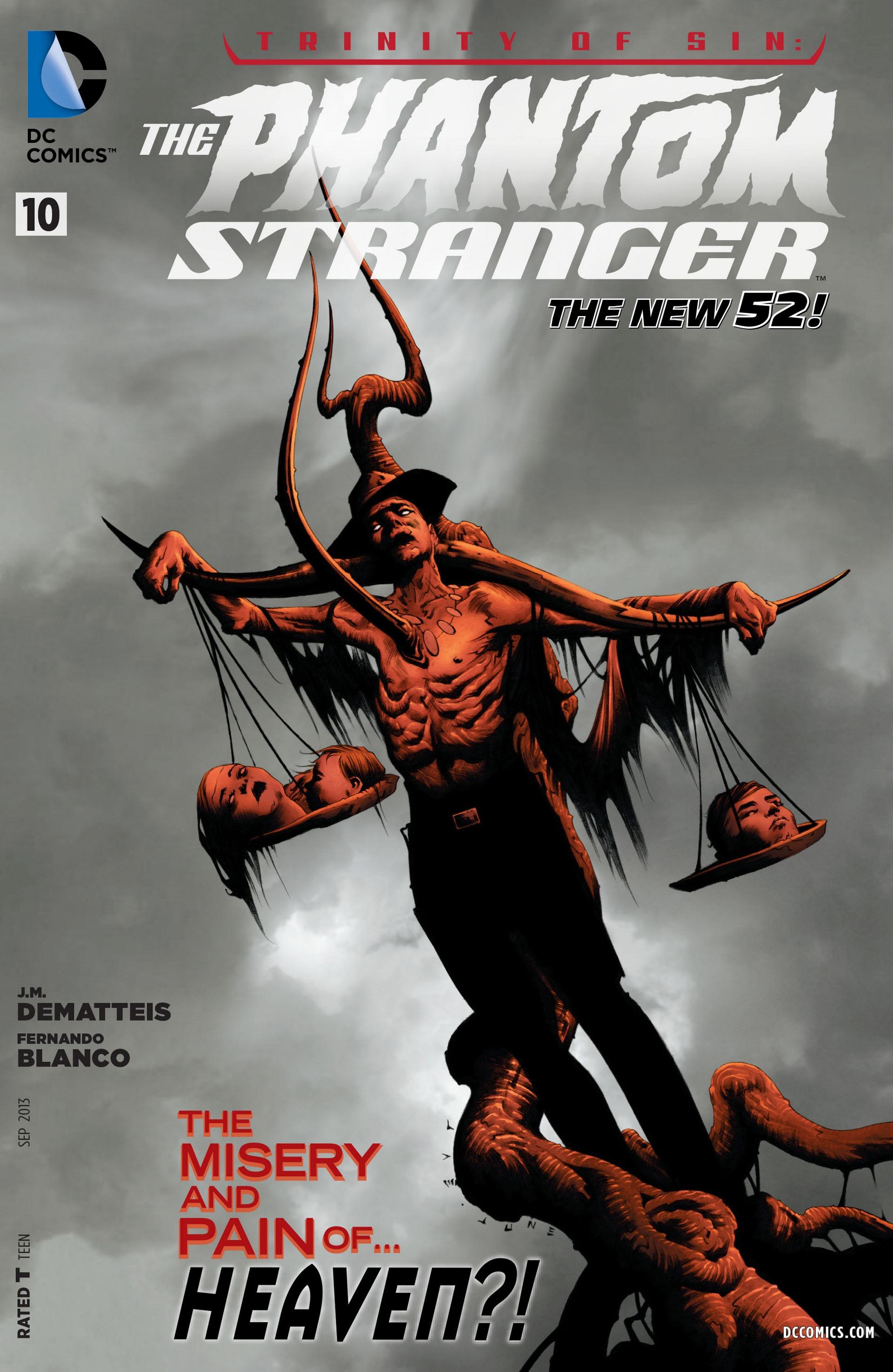 Read online Trinity of Sin: The Phantom Stranger comic -  Issue #10 - 1