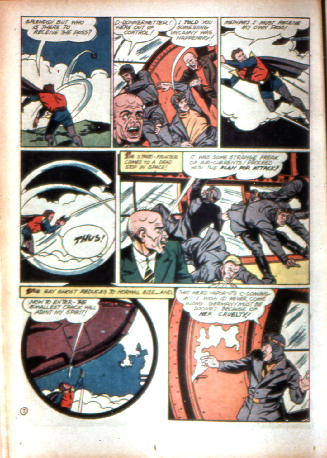 Read online Sensation (Mystery) Comics comic -  Issue #16 - 32