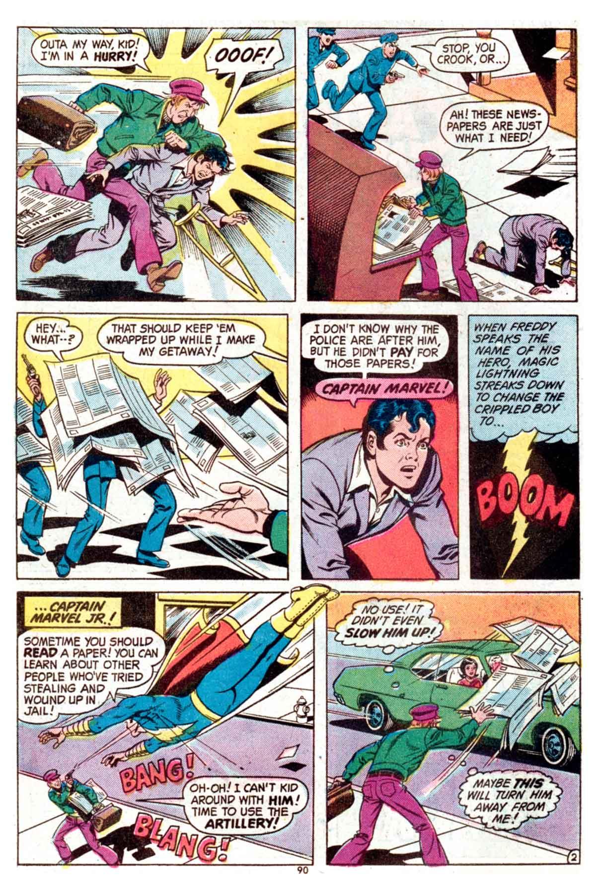Read online Shazam! (1973) comic -  Issue #15 - 90