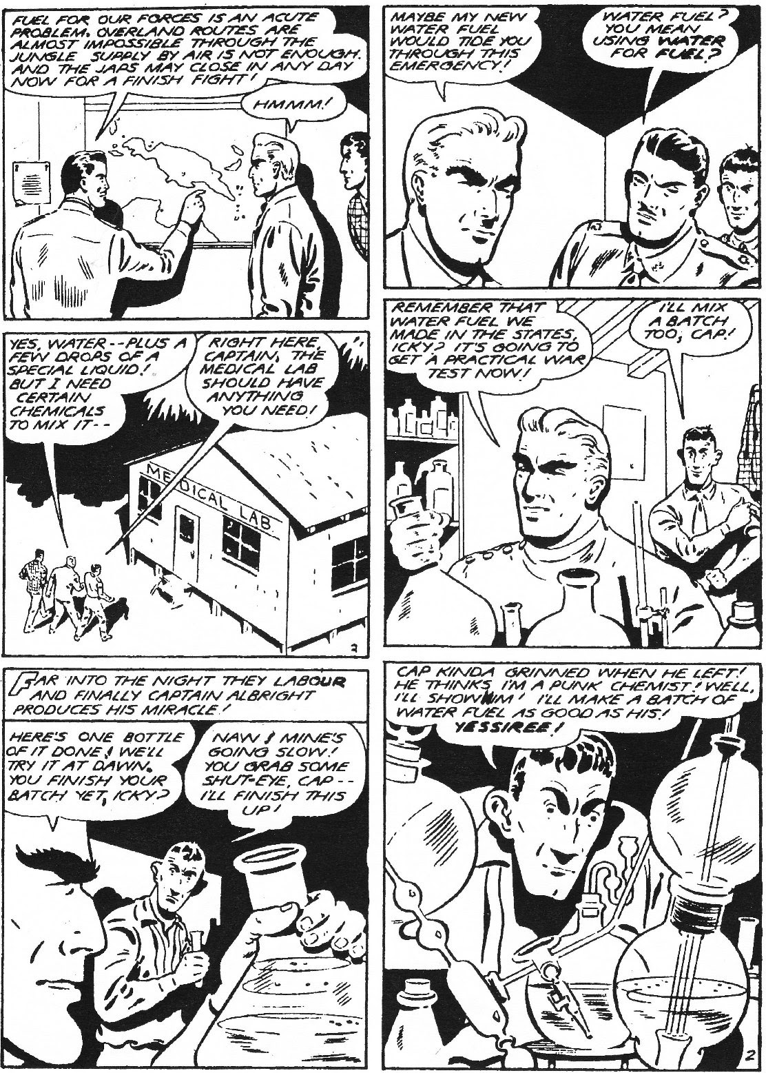 Captain Midnight (1942) issue 11 - Page 3