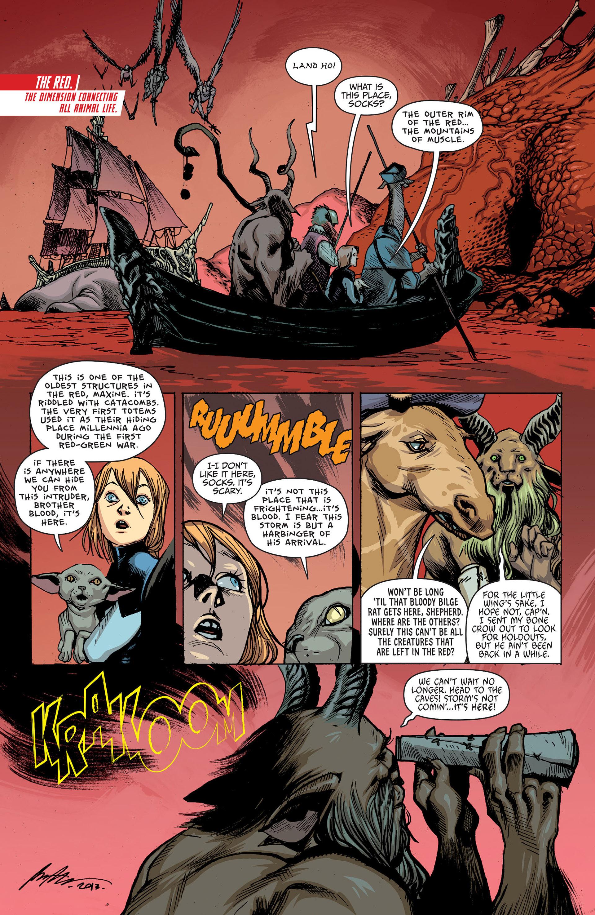 Read online Animal Man (2011) comic -  Issue #25 - 4
