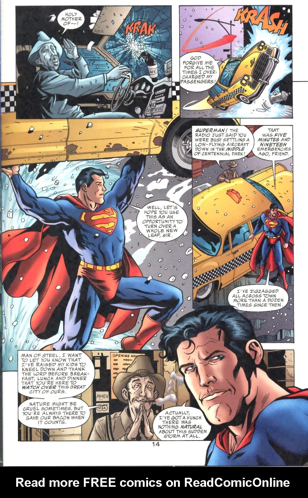 Read online Adventures of Superman (1987) comic -  Issue #575 - 15