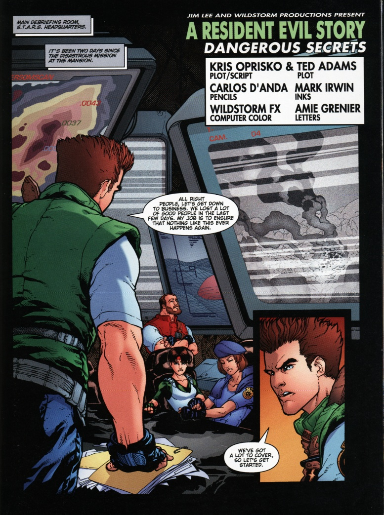 Resident Evil (1998) Issue #1 #1 - English 20