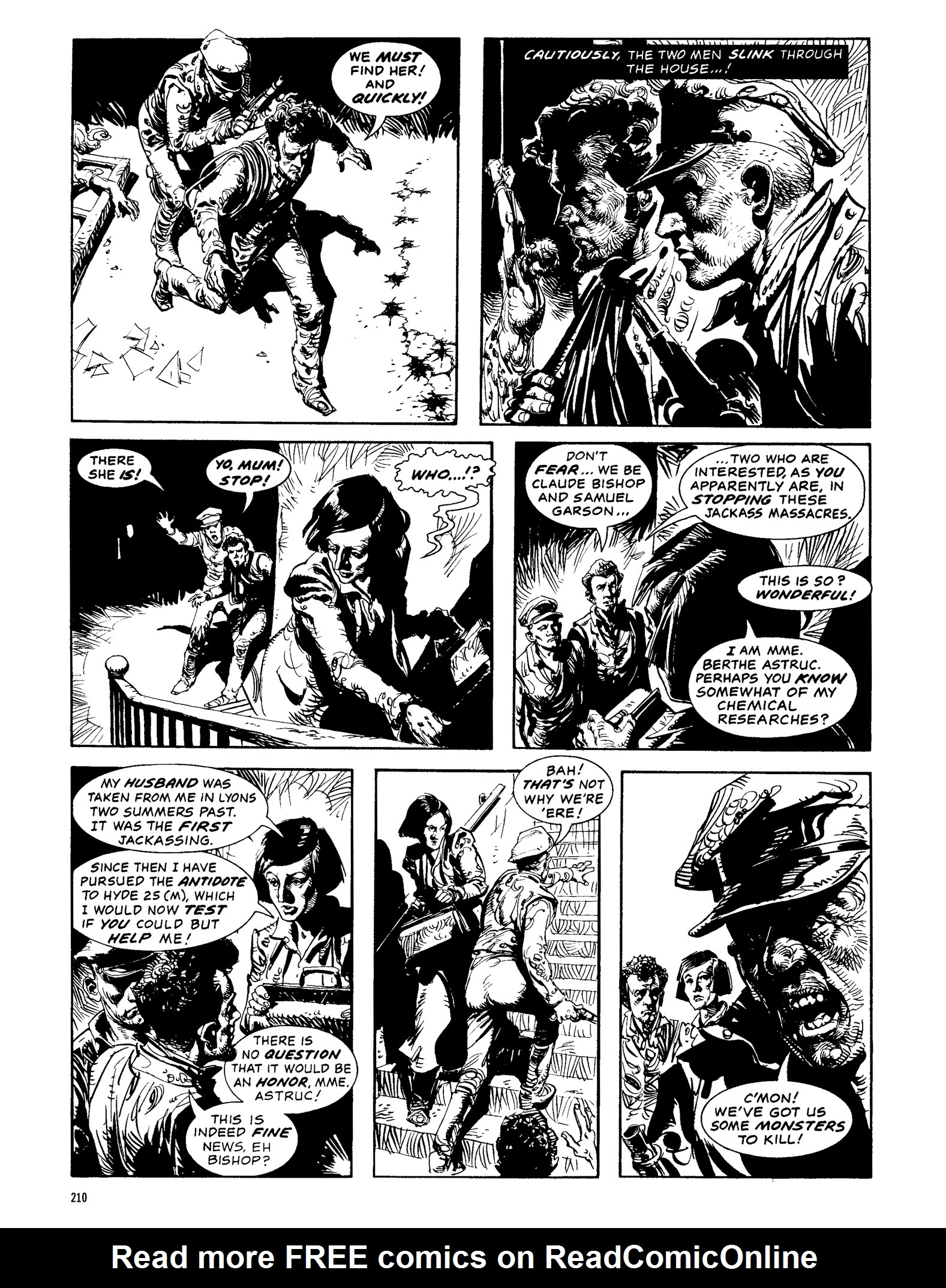 Read online Eerie Archives comic -  Issue # TPB 13 - 211