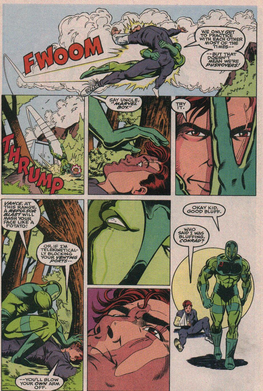 The New Warriors Issue #26 #30 - English 5