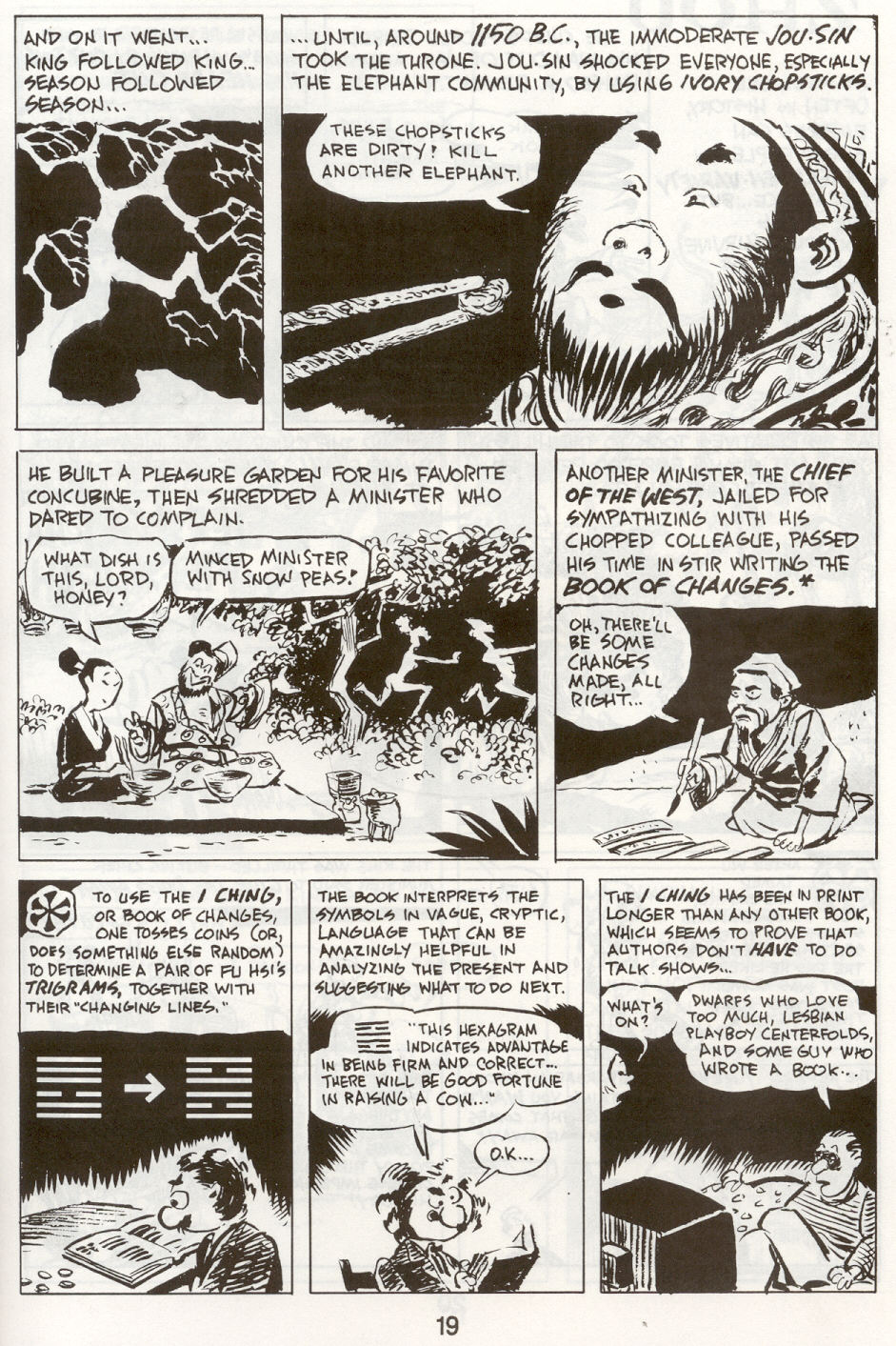 Read online The Cartoon History of the Universe comic -  Issue #9 - 22