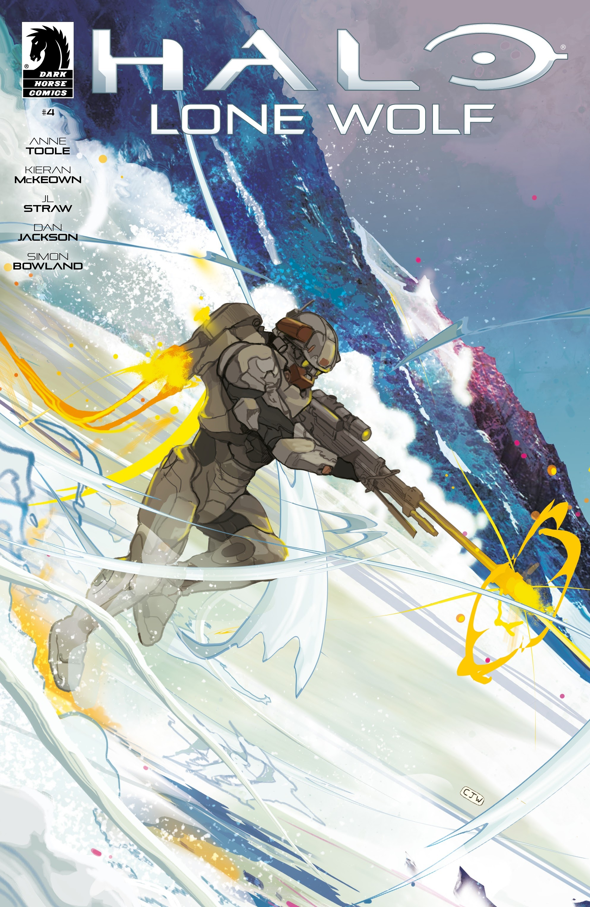 Halo: Lone Wolf  issue 4 - Page 1
