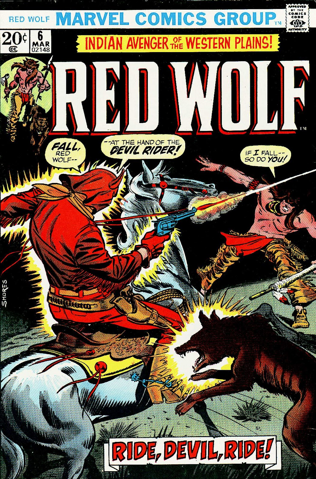 Red Wolf (1972) 6 Page 1
