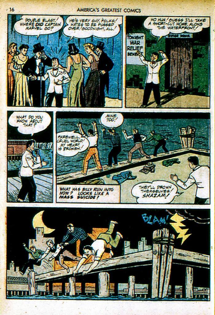 Read online America's Greatest Comics comic -  Issue #4 - 16