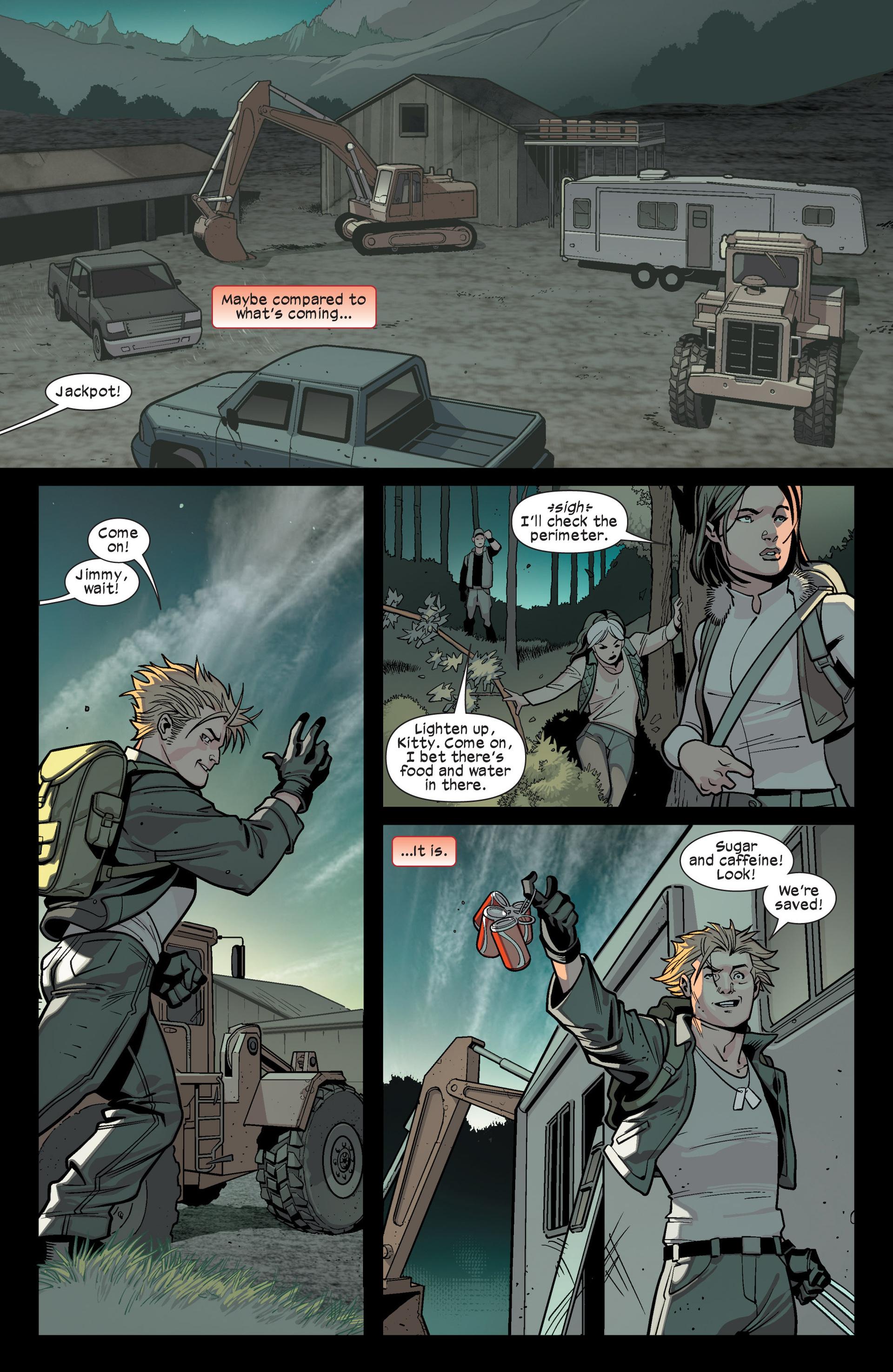 Read online Ultimate Comics X-Men comic -  Issue #15 - 17