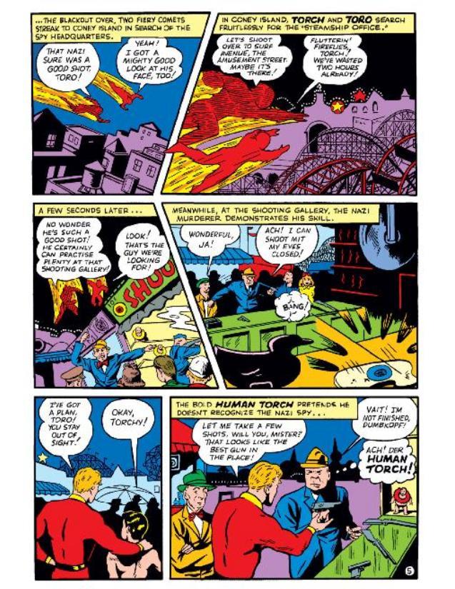 Read online All-Winners Comics comic -  Issue #5 - 8