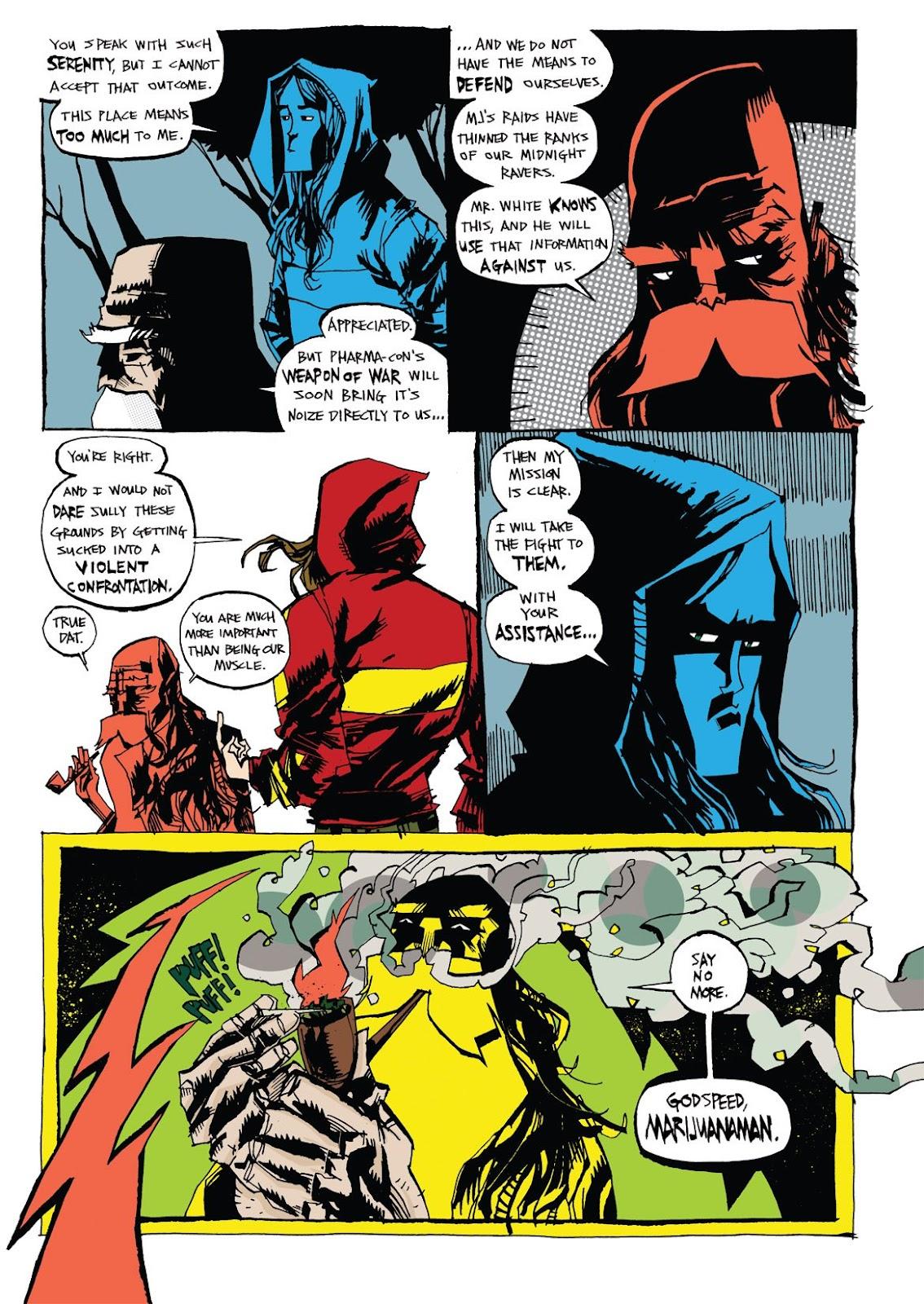 Read online Marijuanaman comic -  Issue # Full - 35
