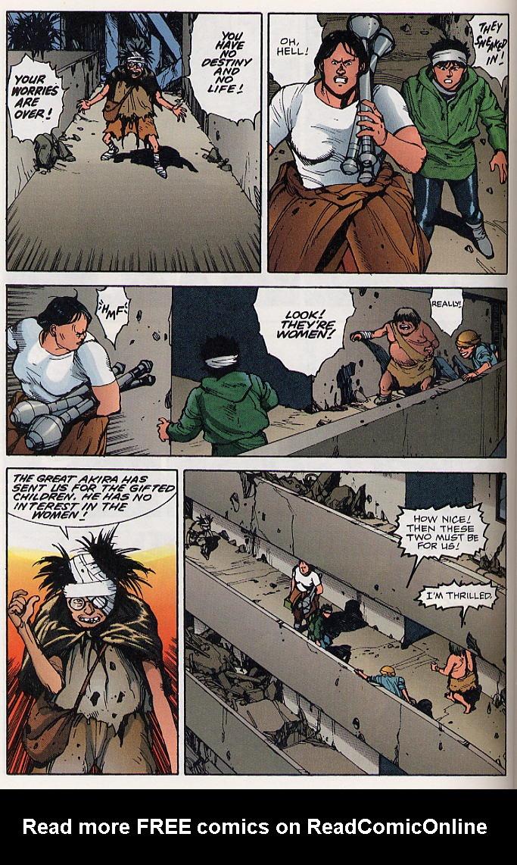 Read online Akira comic -  Issue #19 - 25