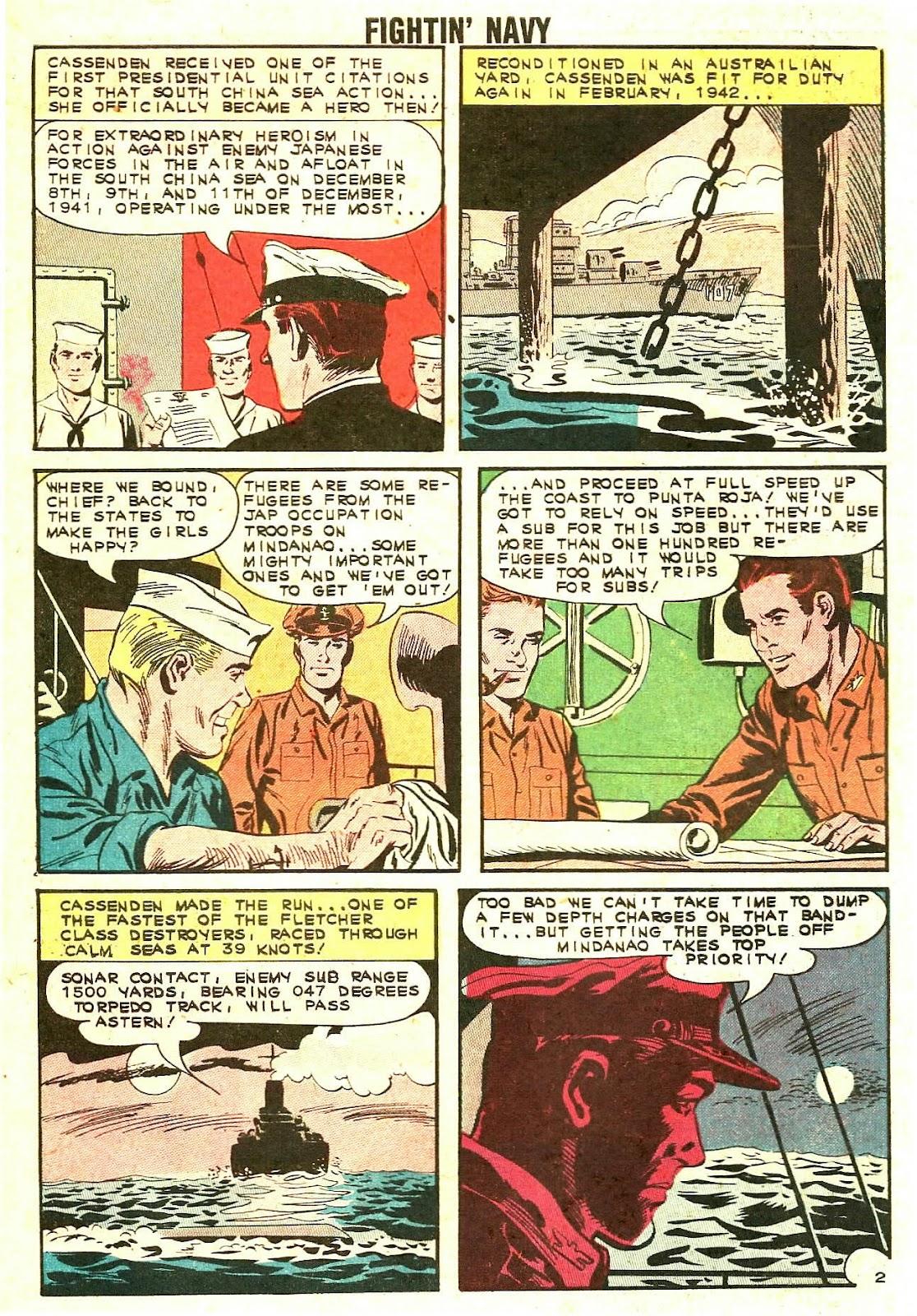 Read online Fightin' Navy comic -  Issue #110 - 10