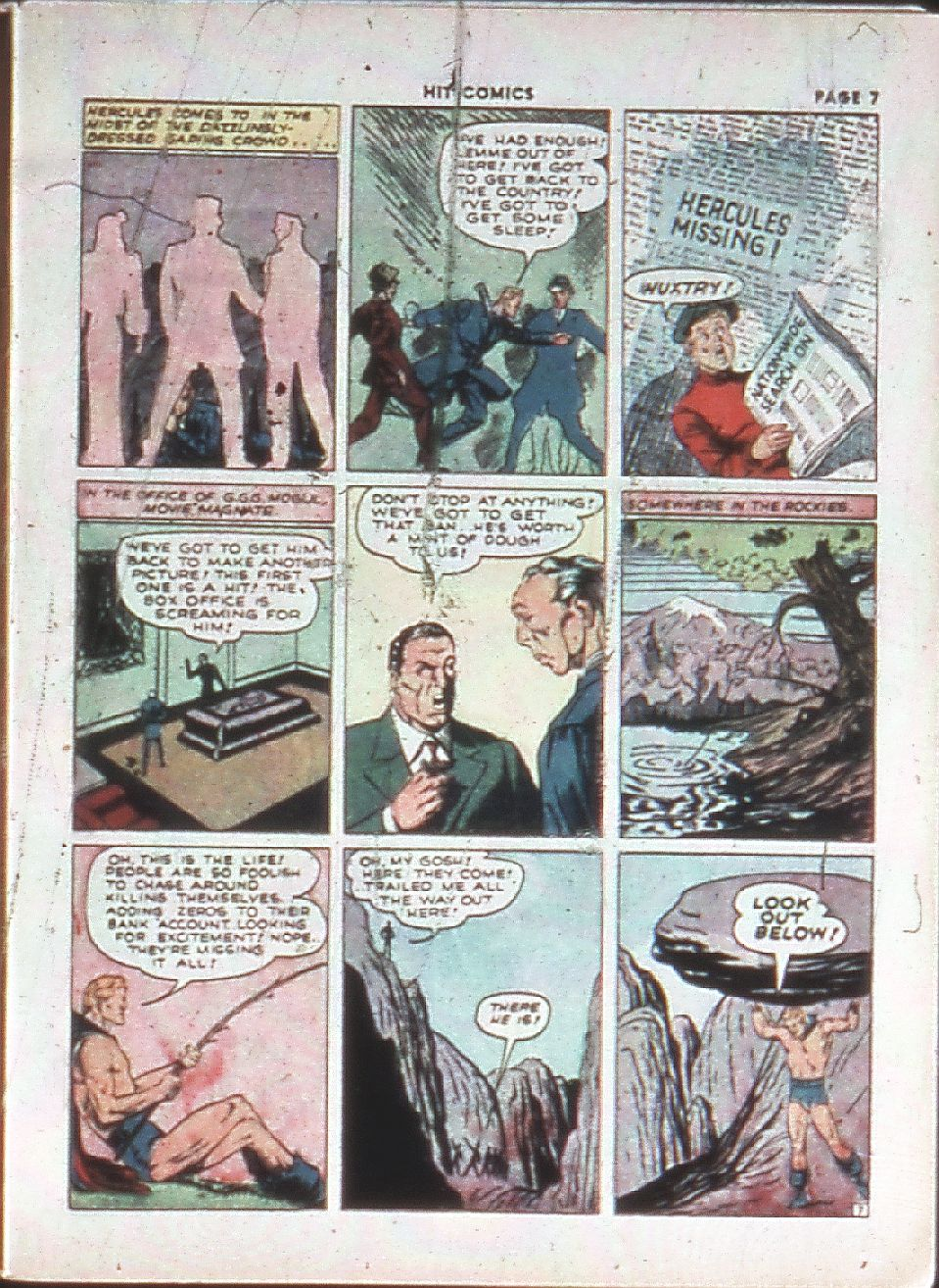 Read online Hit Comics comic -  Issue #10 - 9