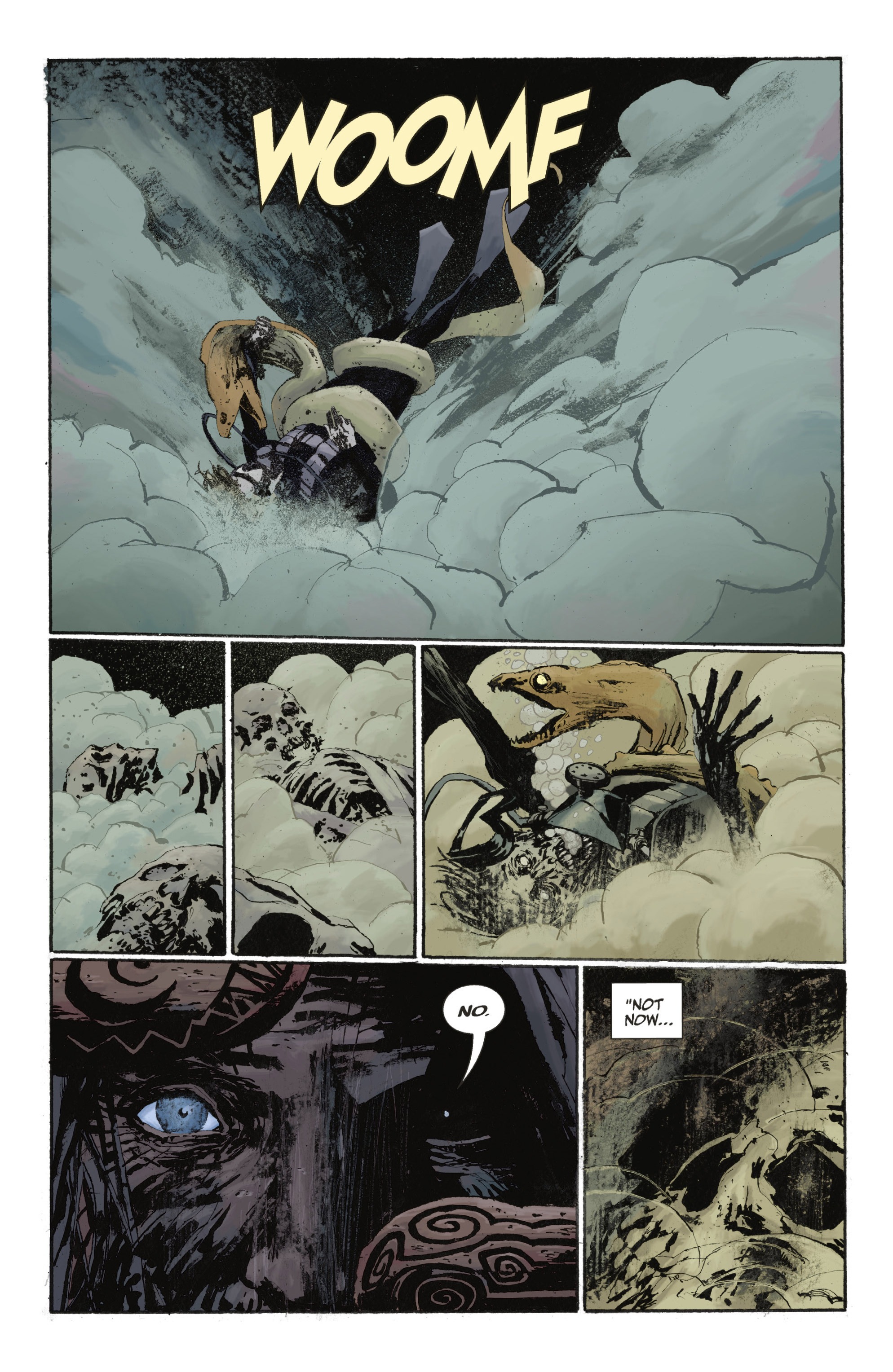 Read online Abe Sapien: The Drowning comic -  Issue #Abe Sapien: The Drowning _TPB - 38