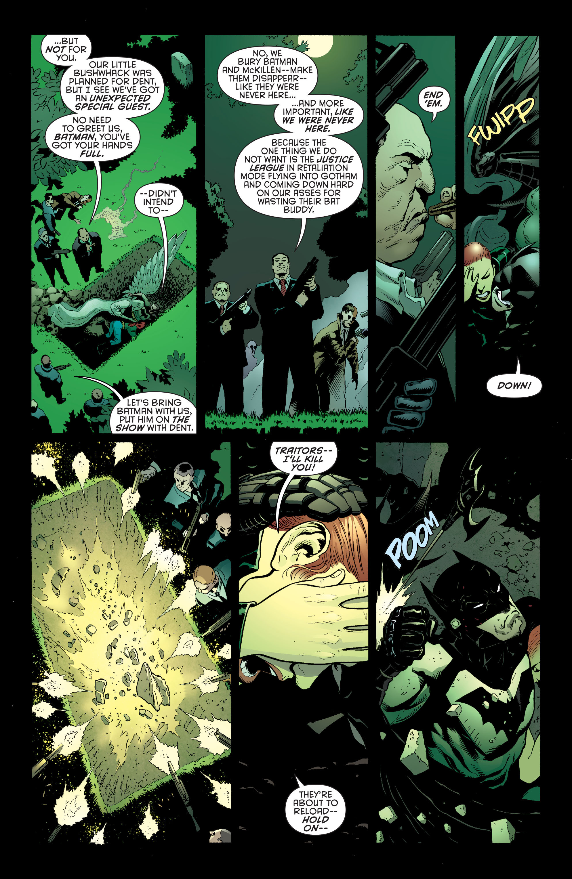 Read online Batman and Robin (2011) comic -  Issue #27 - Batman and Two-Face - 6