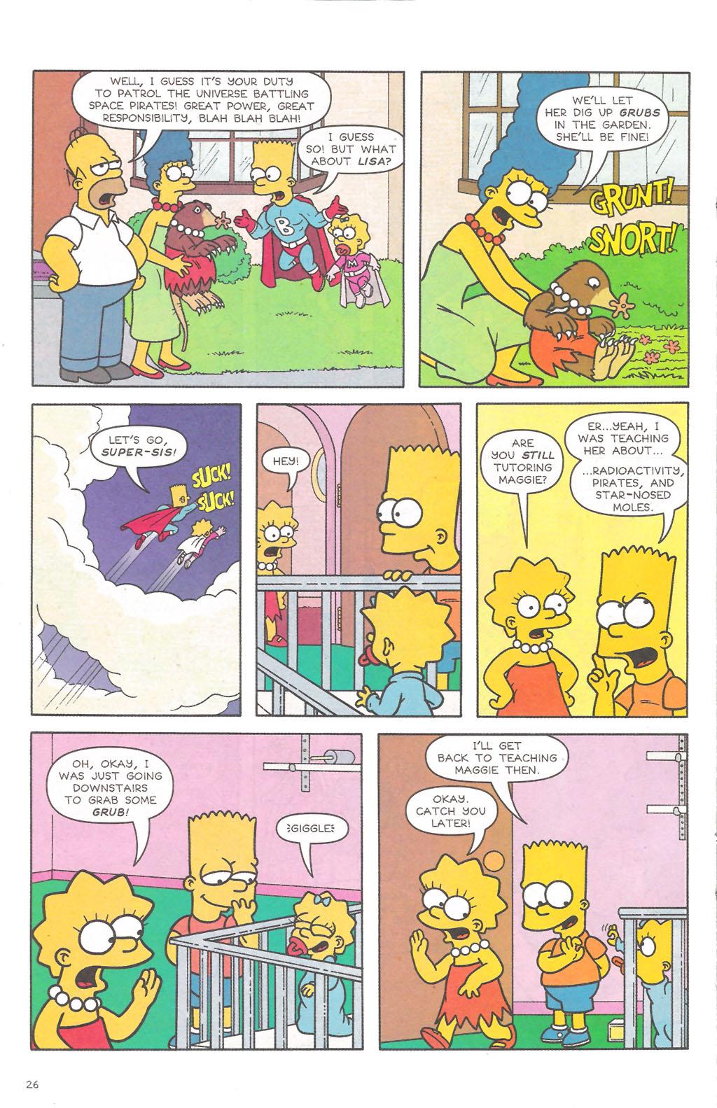 Read online Simpsons Comics comic -  Issue #111 - 27