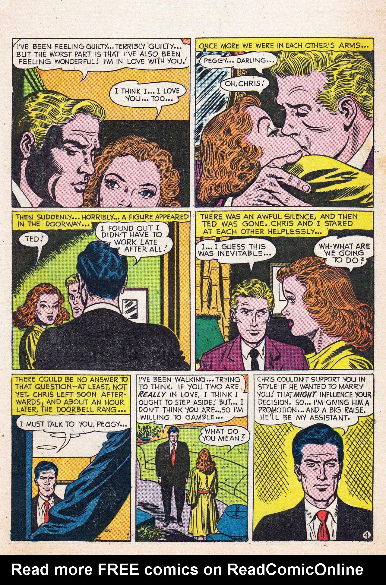 Read online Secret Hearts comic -  Issue #13 - 21